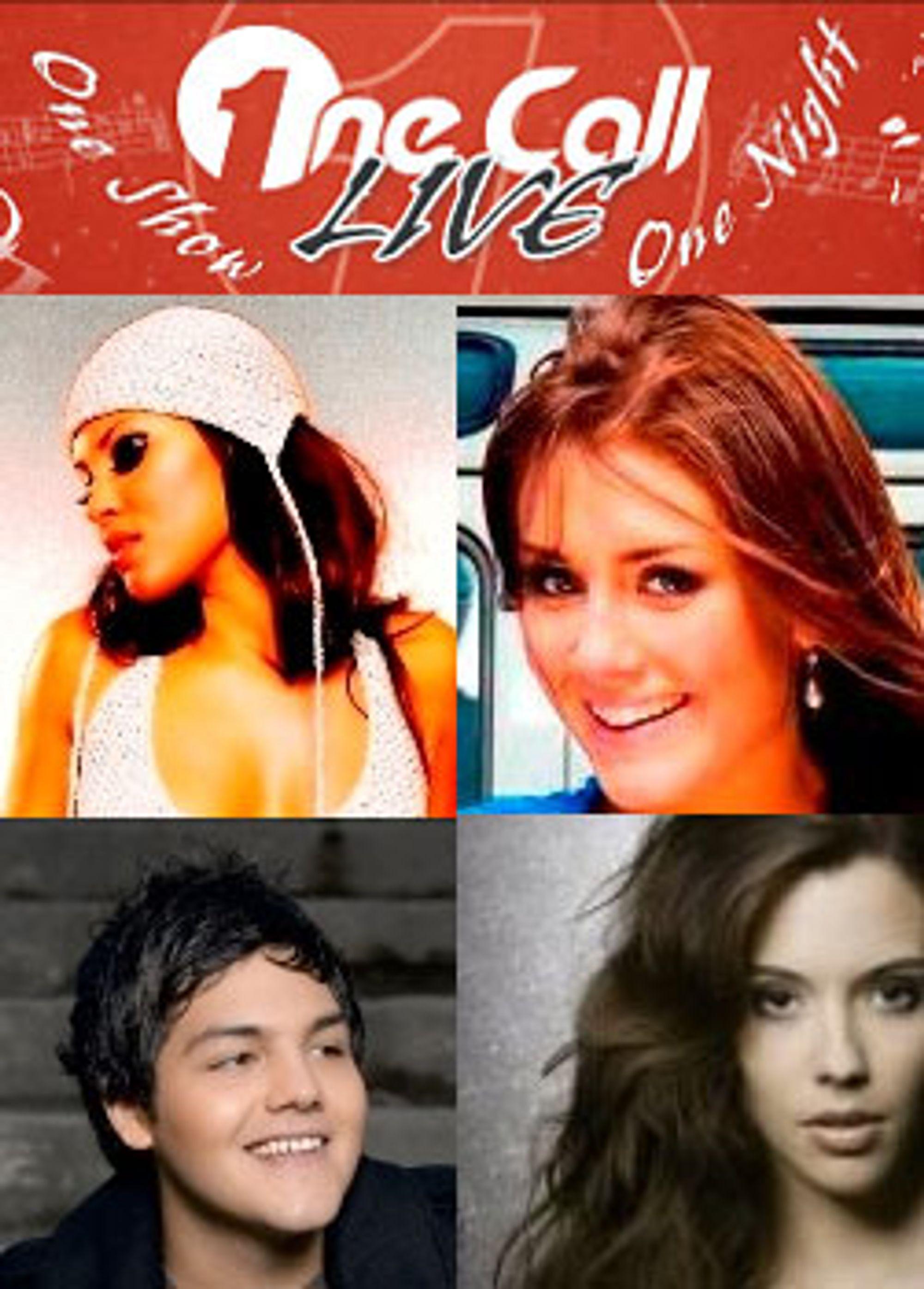 Mira Craig, Tone Damli Aaberge, Alejandro Fuentes og Marion Ravn er blant stjernene som vil spille på One Call Live-konserten.