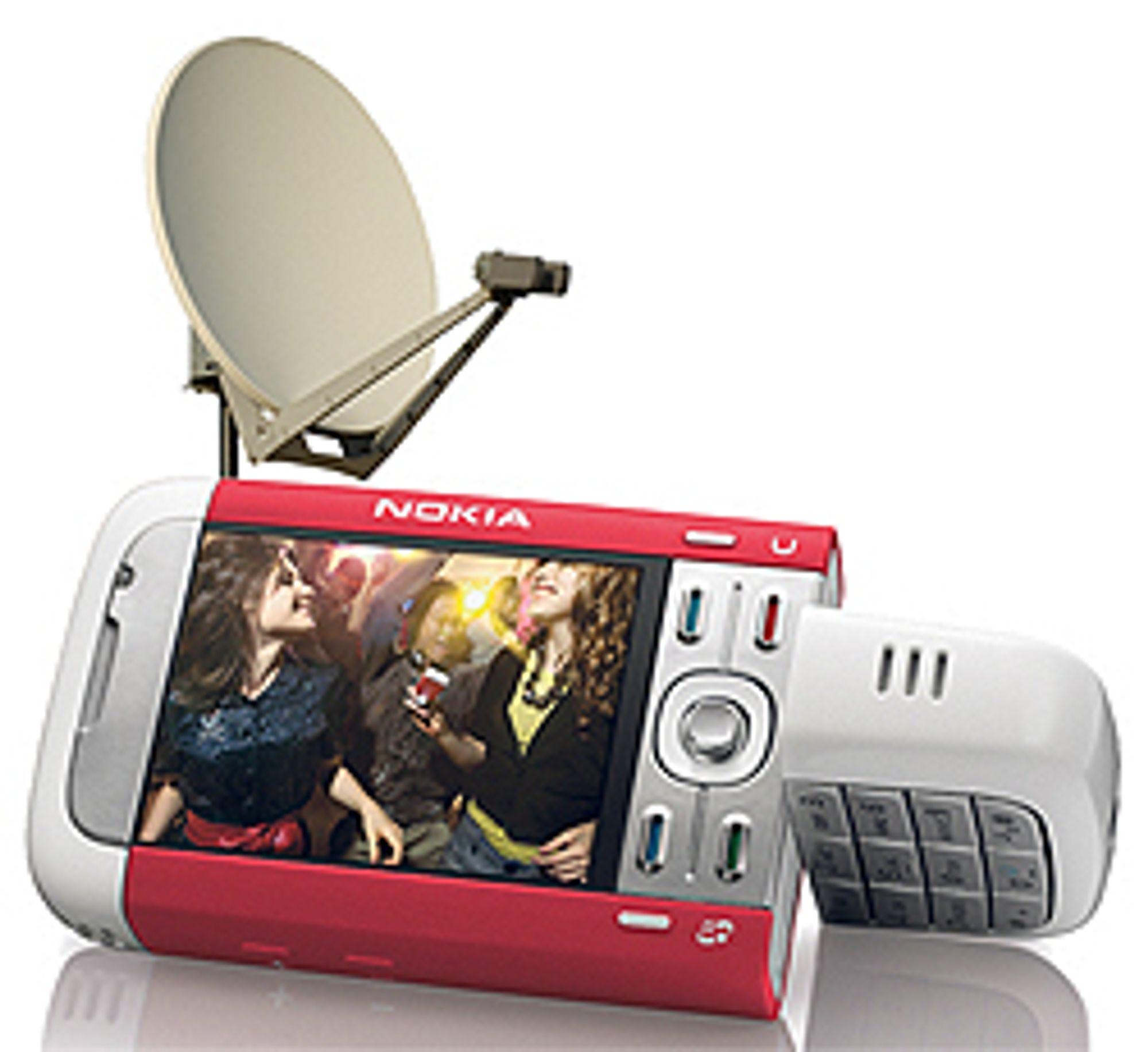 I fremtiden kan vi ta imot satelitt-TV på mobilen.