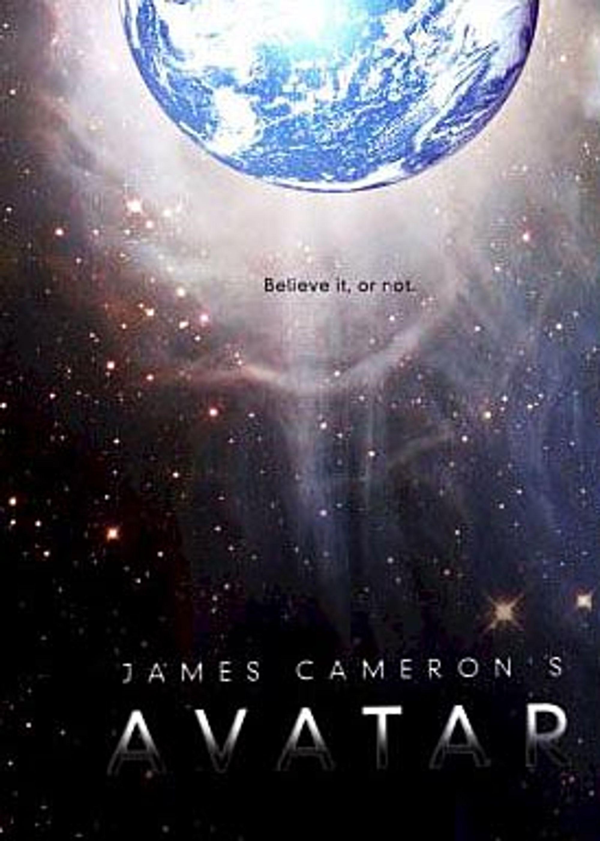 Dette skal være plakaten til Camerons kommende film.
