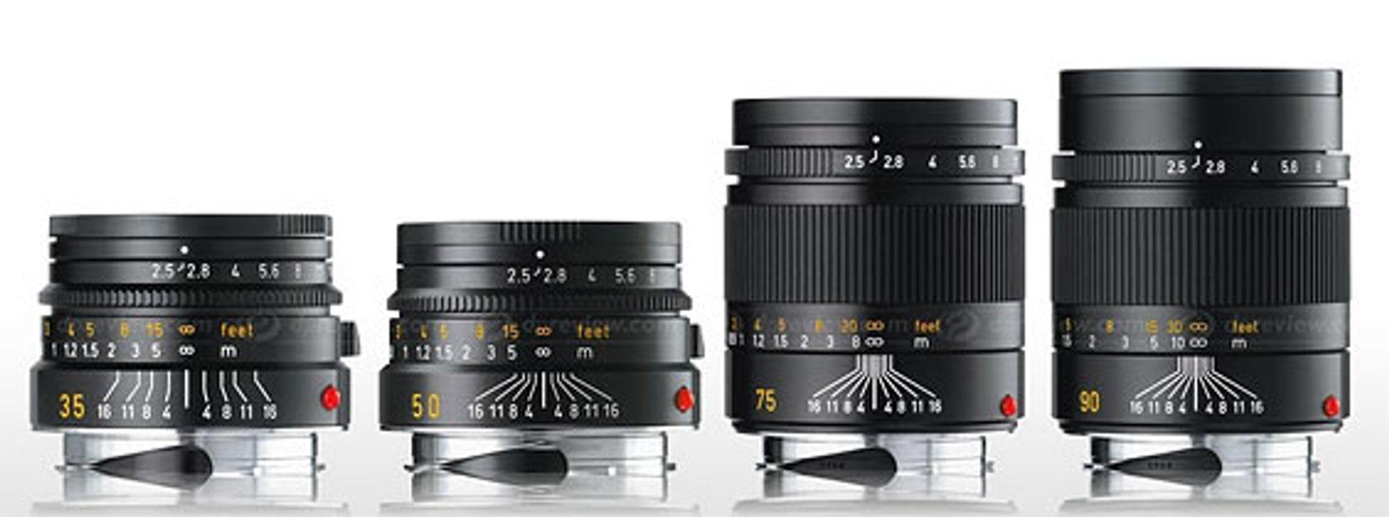 Nye, rimelige Leica-objektiver