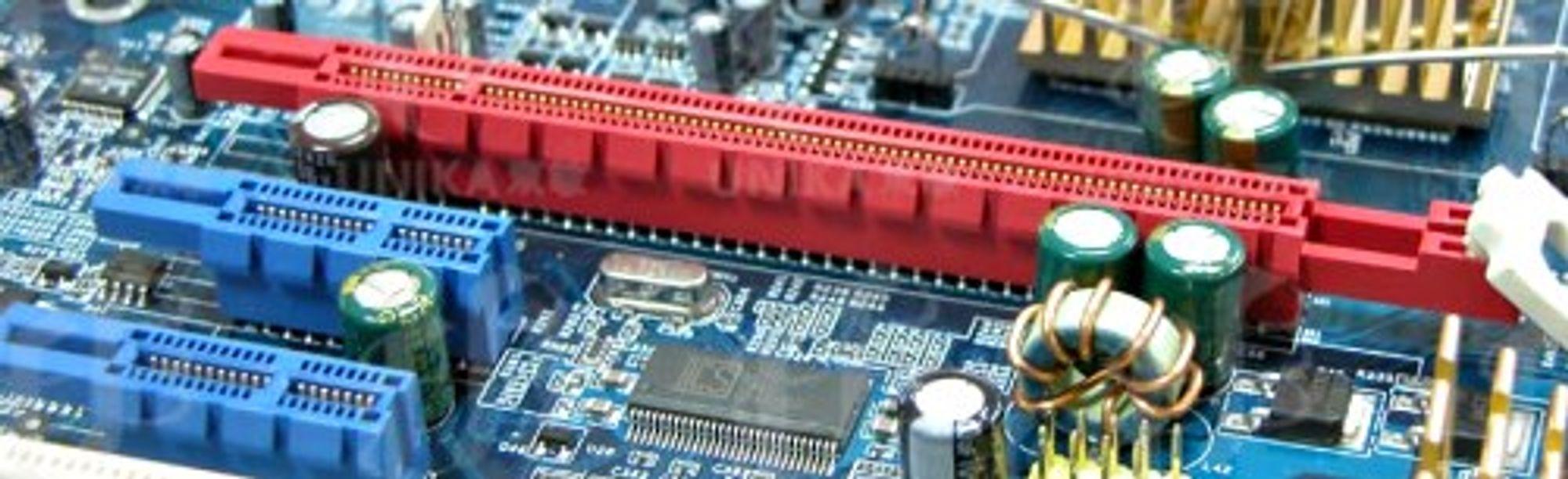Ny dobling av båndbredden med PCIe 3.0