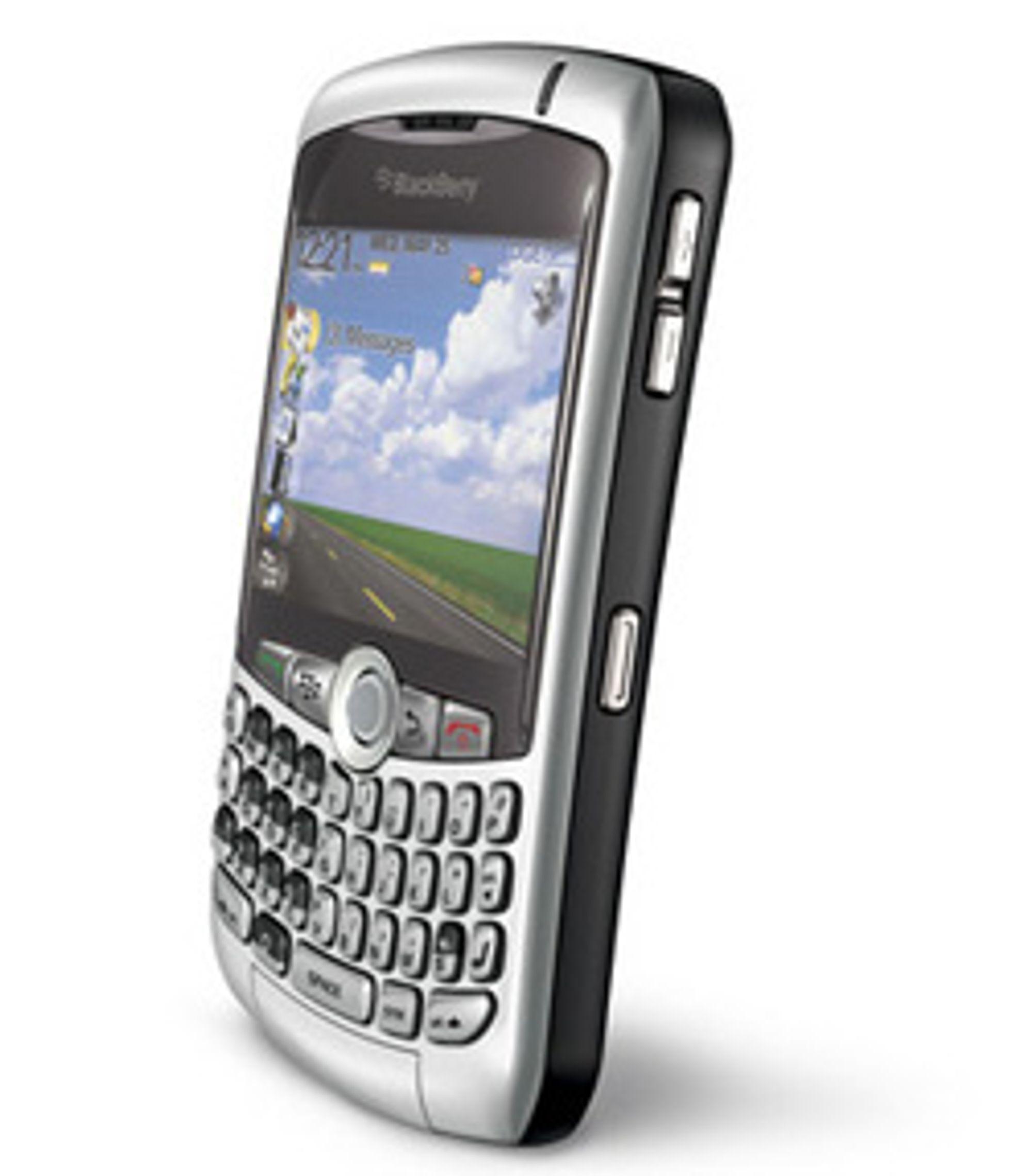 Blackberry 8300 for deg som liker å høre på musikk med mobilen. (Foto: RIM)