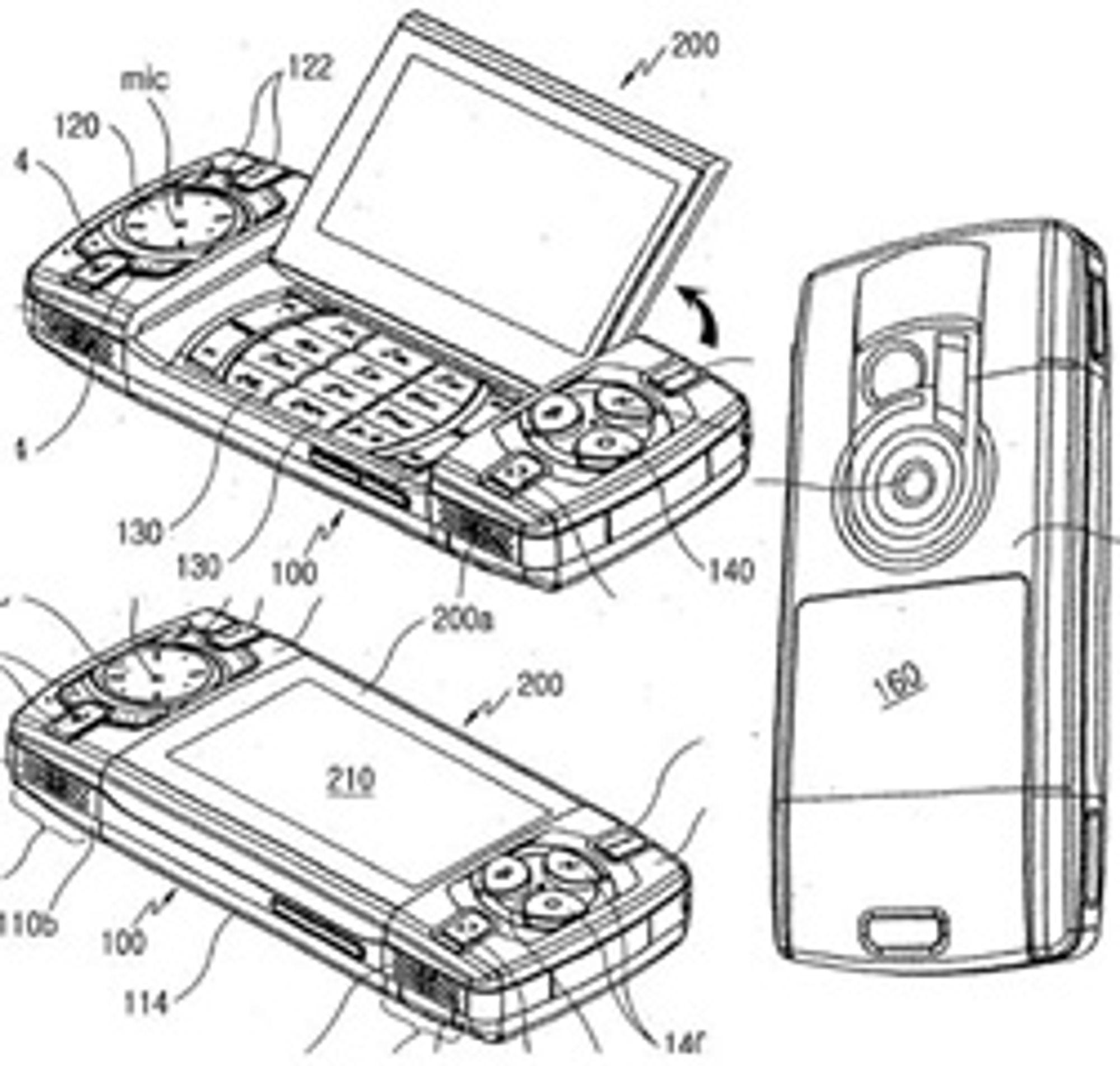 Fremtidens spillmobil fra Samsung? (Foto: Unwired View)