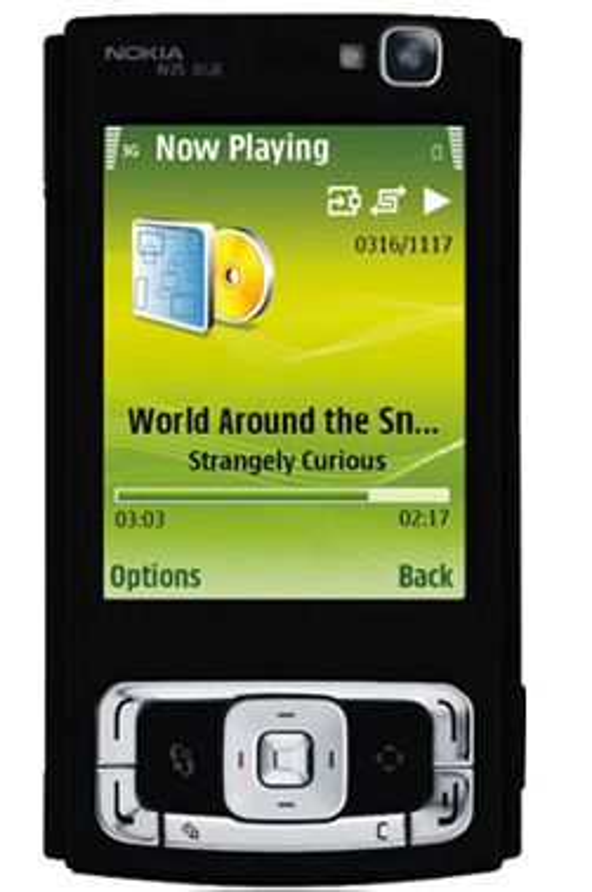 Noen har laget en illustrasjon på hvordan den svarte N95 kan se ut. (Foto: Mobil.se)