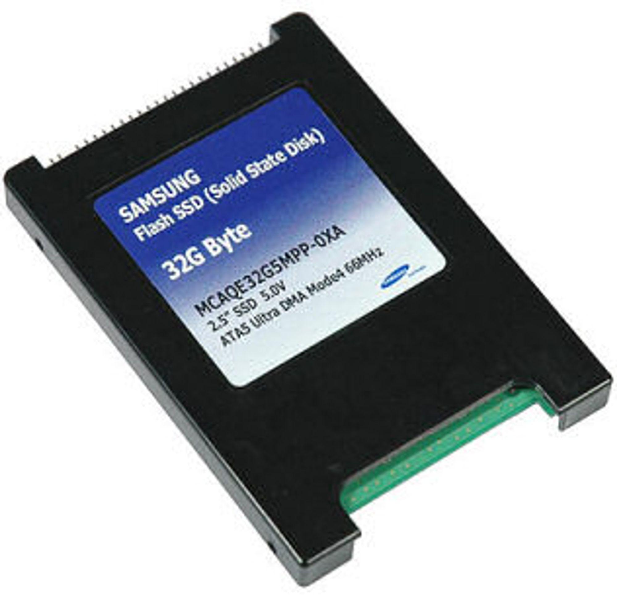 SSD-enhet fra Samsung