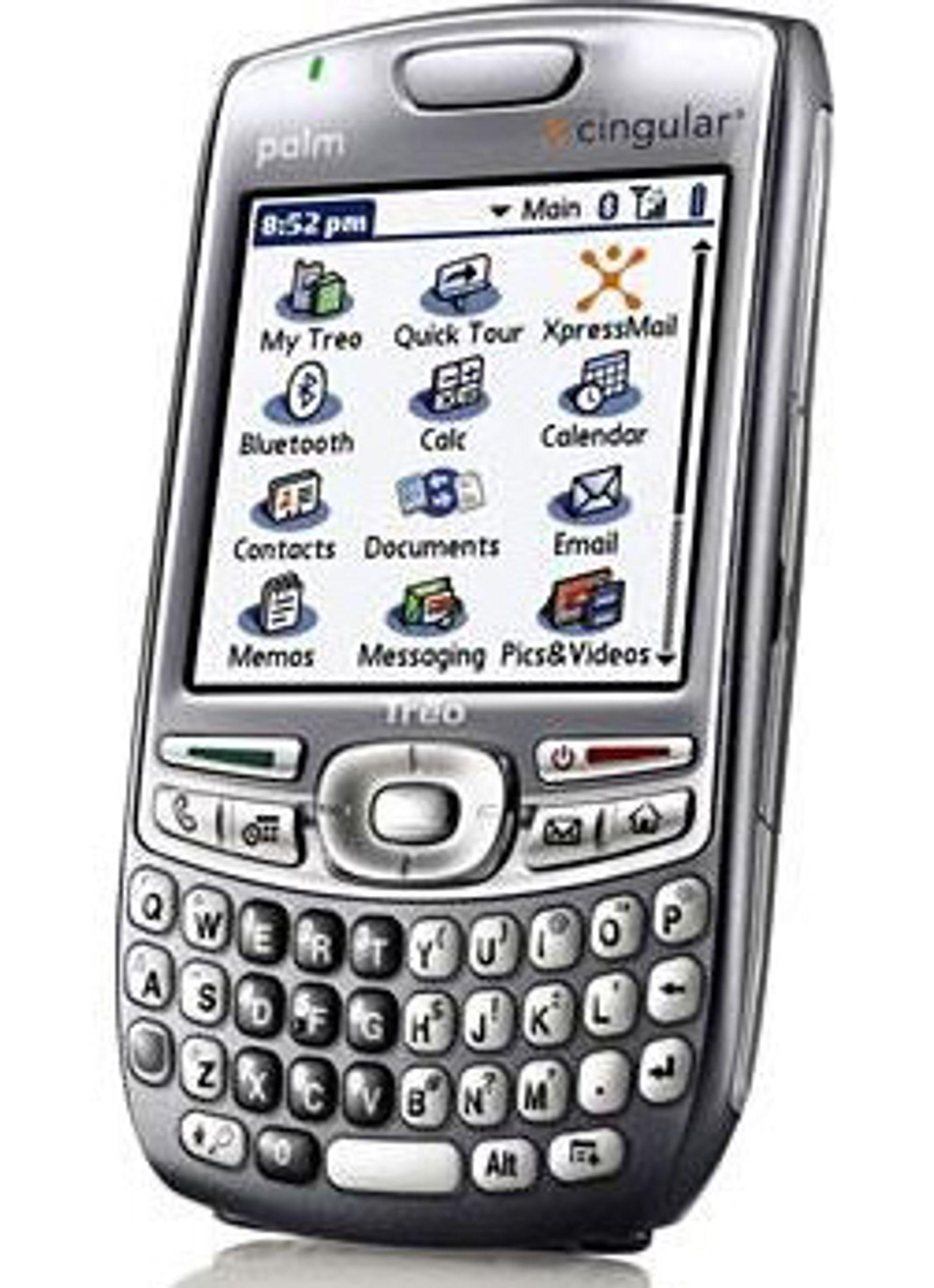 Palm jobber med Palm OS II