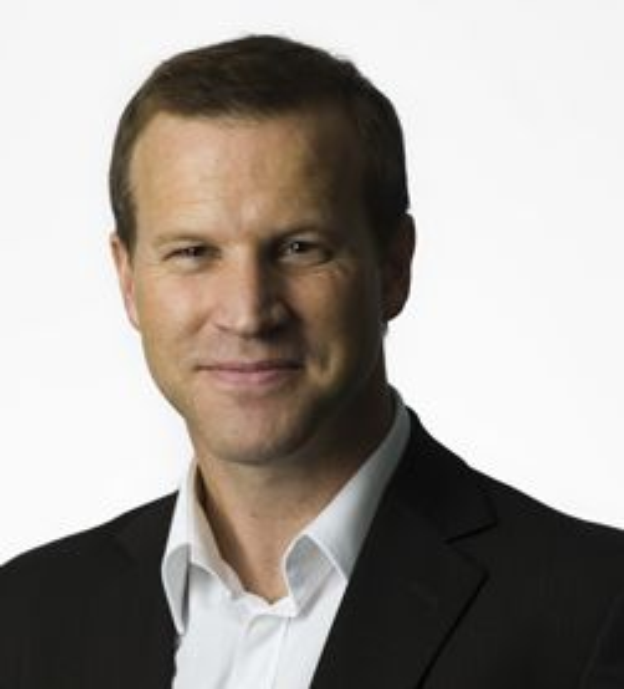 Telenors Anders Krokan lover Netcom skarp konkurranse når de lanserer HSDPA. (Foto: Ole Walter Jacobsen/Telenor)