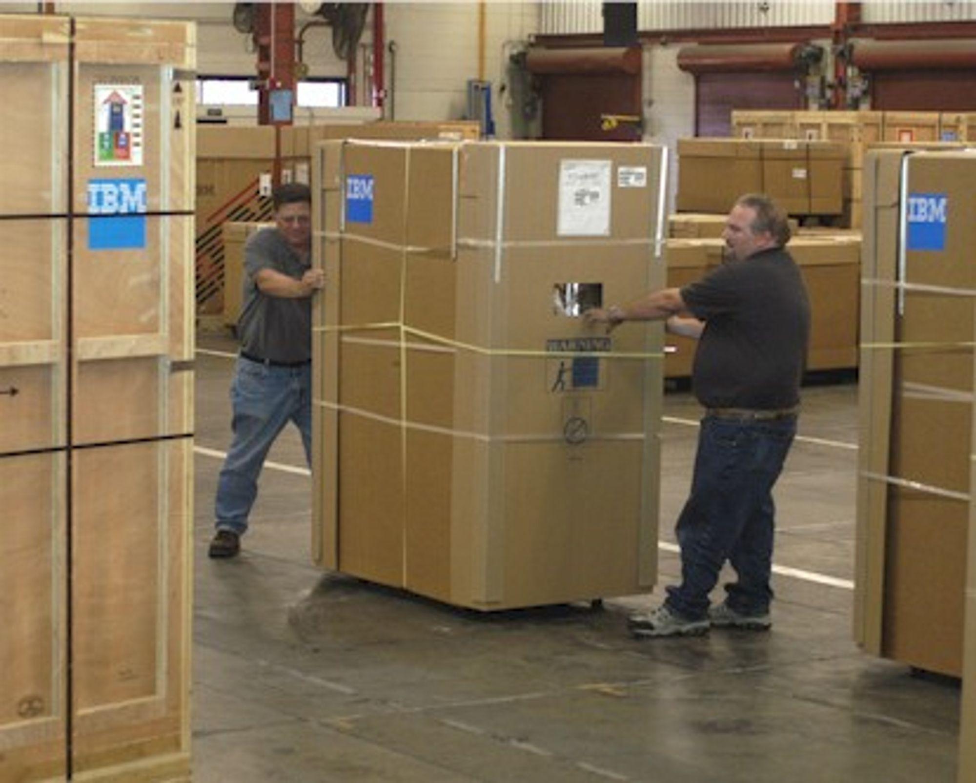 Standard IBM-innpakning?