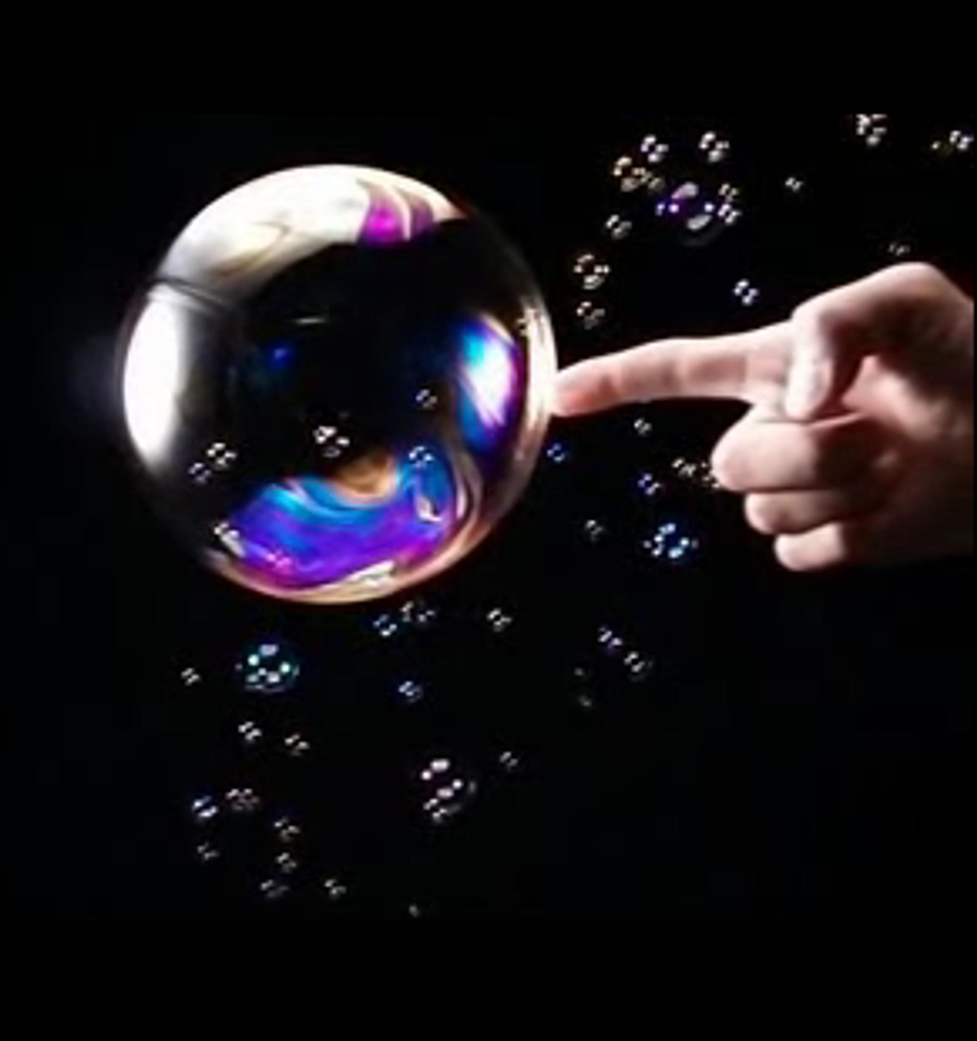 Hvordan ser en såpeboble ut i det øyeblikk den sprekker? Test selv!
