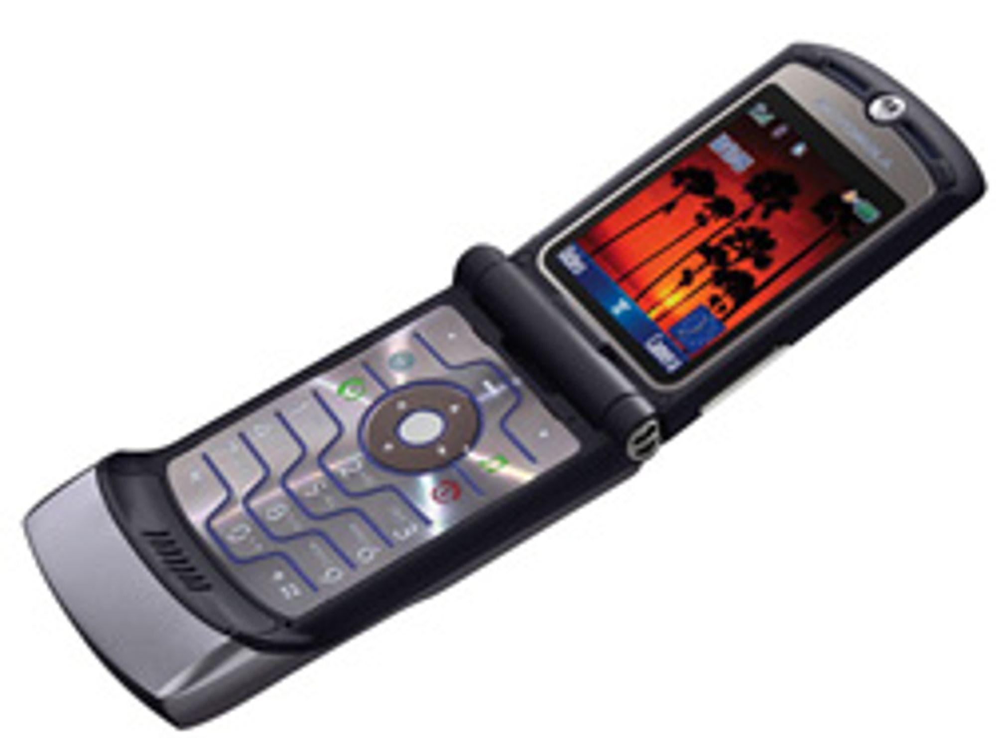 Motorola er klar for nye idéer fra designavdelingen. (Foto: Motorola)