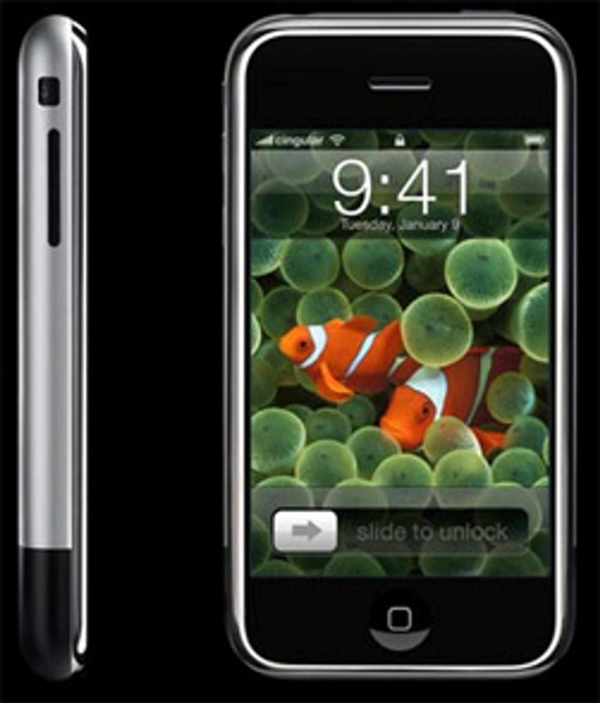 Apple er fornøyd med iPhone-salget. (Foto: Apple)