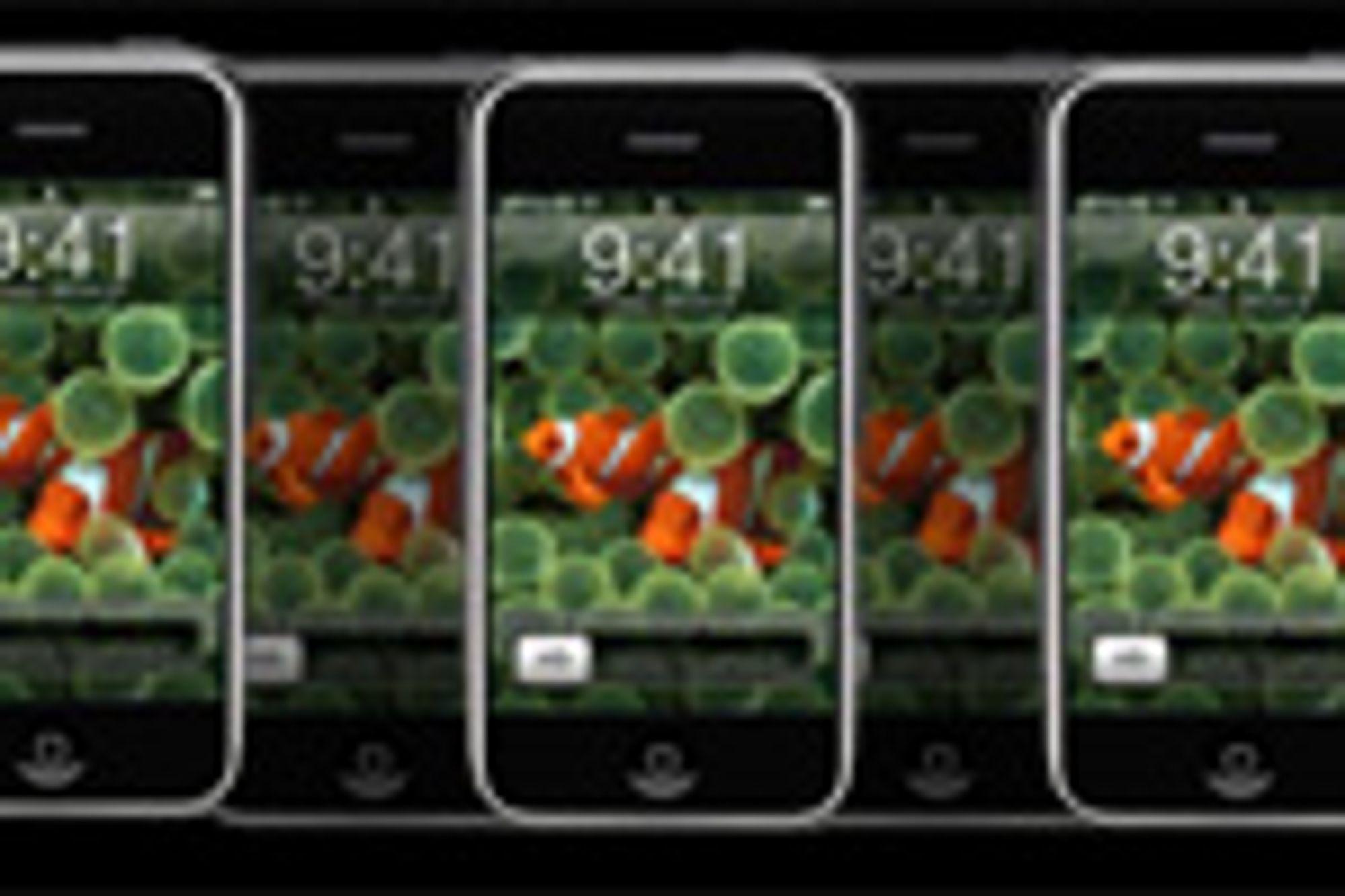 Iphone når millionen
