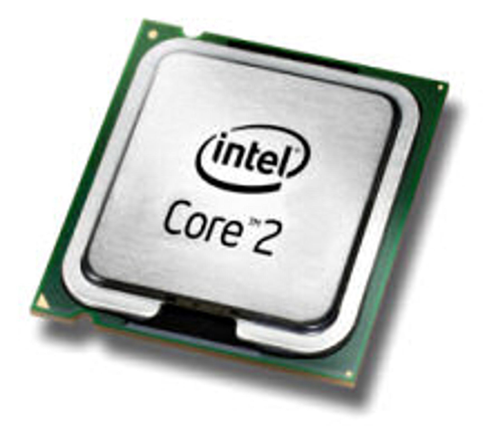 Viiv og vPro legges under Core 2-navnet