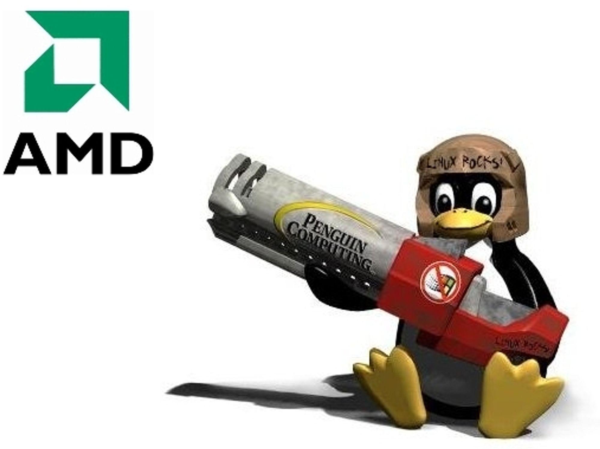 Kan Linux endelig spille pent med AMD?