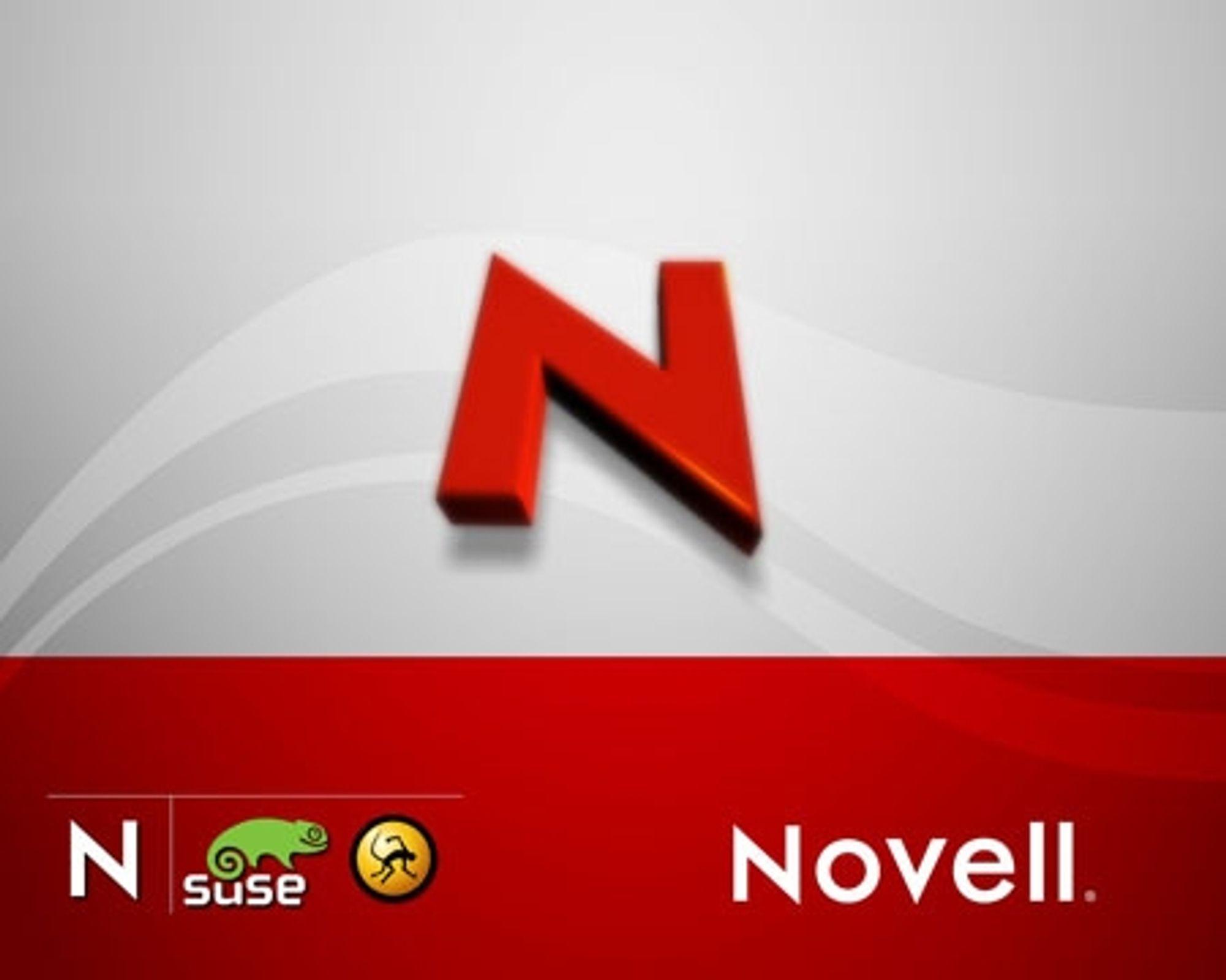 Novell står bla. bak Linux-distribusjonen SUSE.