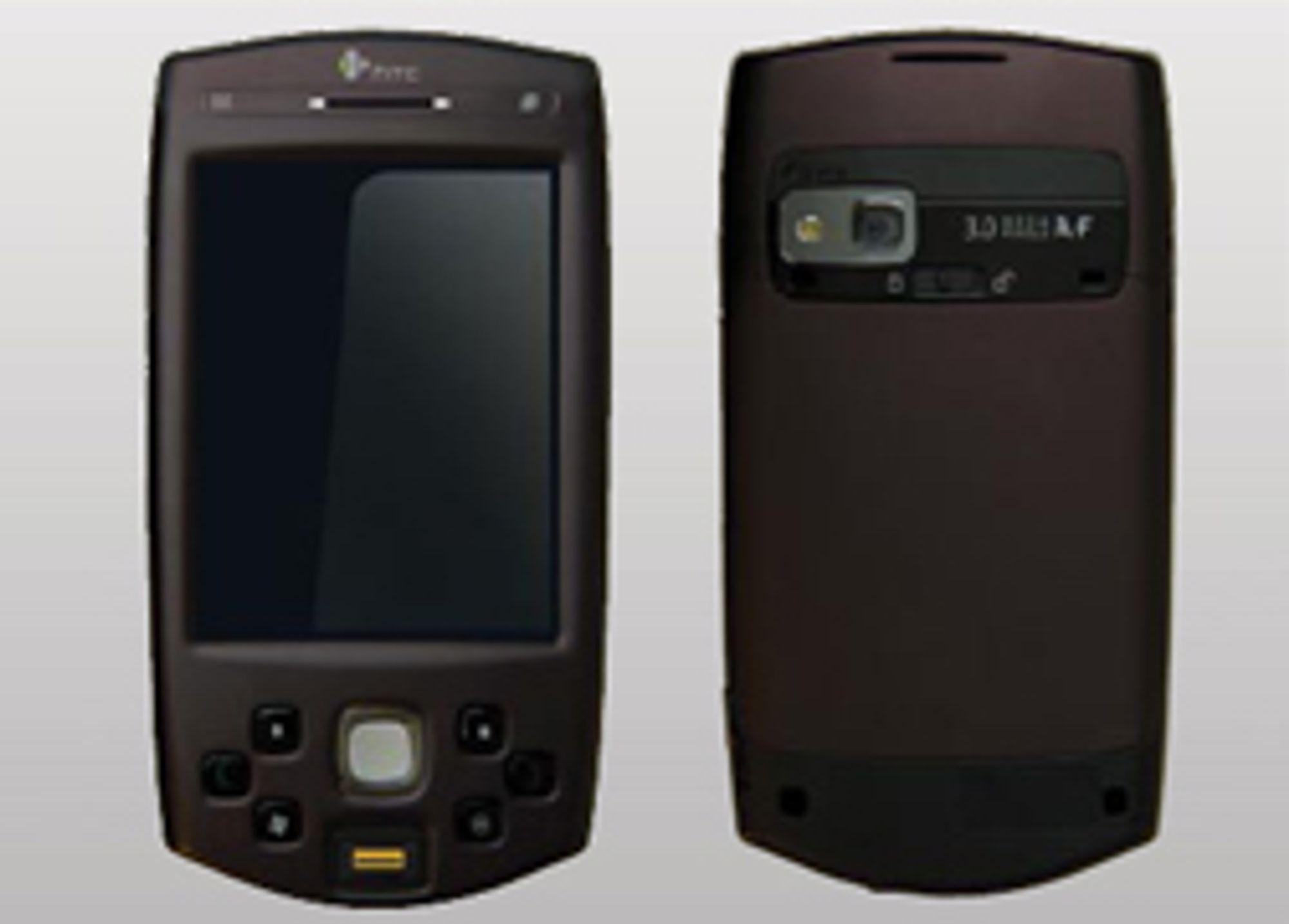 HTC P6500 leser fingeravtrykk.