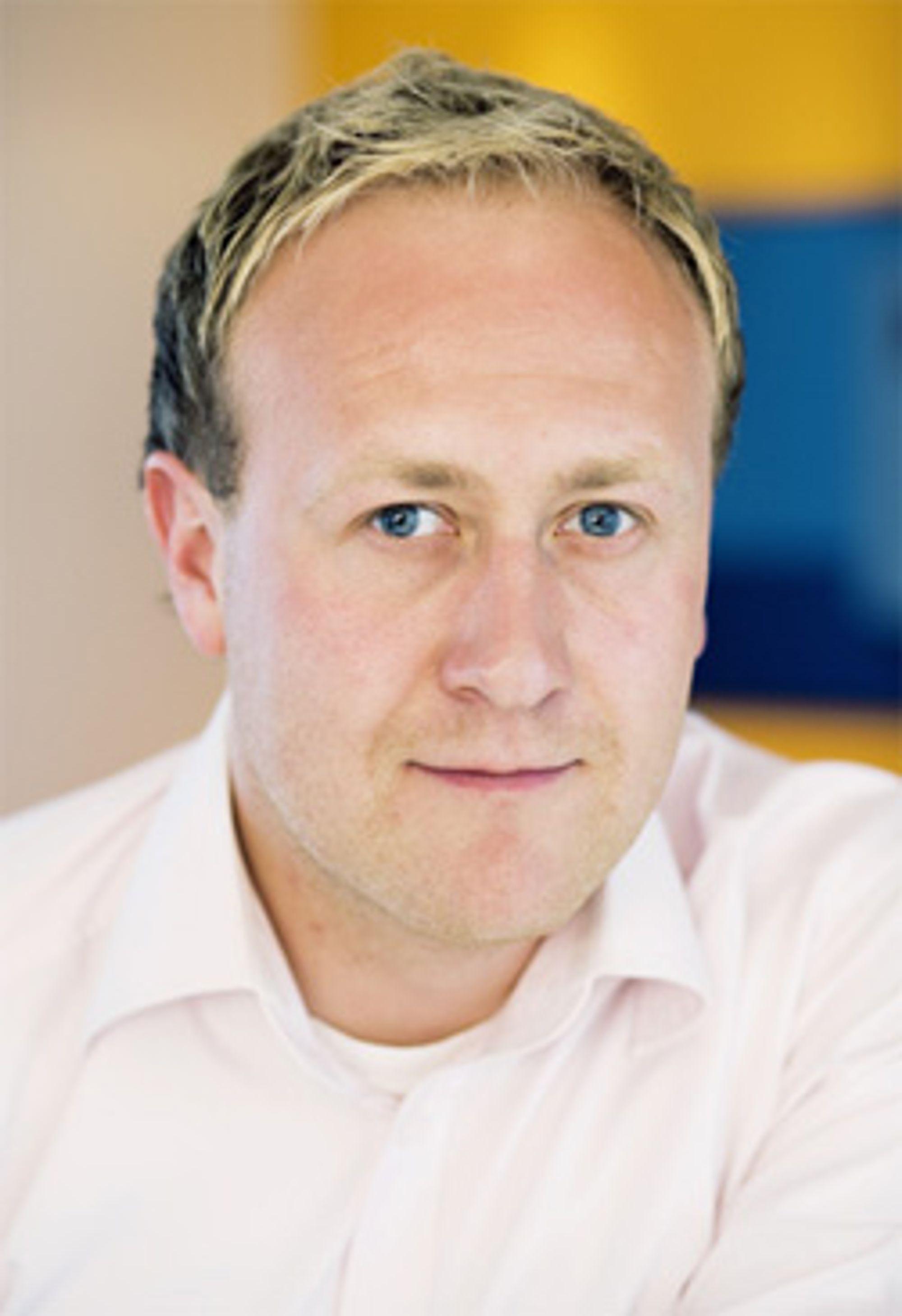 Øyvind Vederhus i Netcom lover også fastpris til privatkunder. (Foto: Netcom)