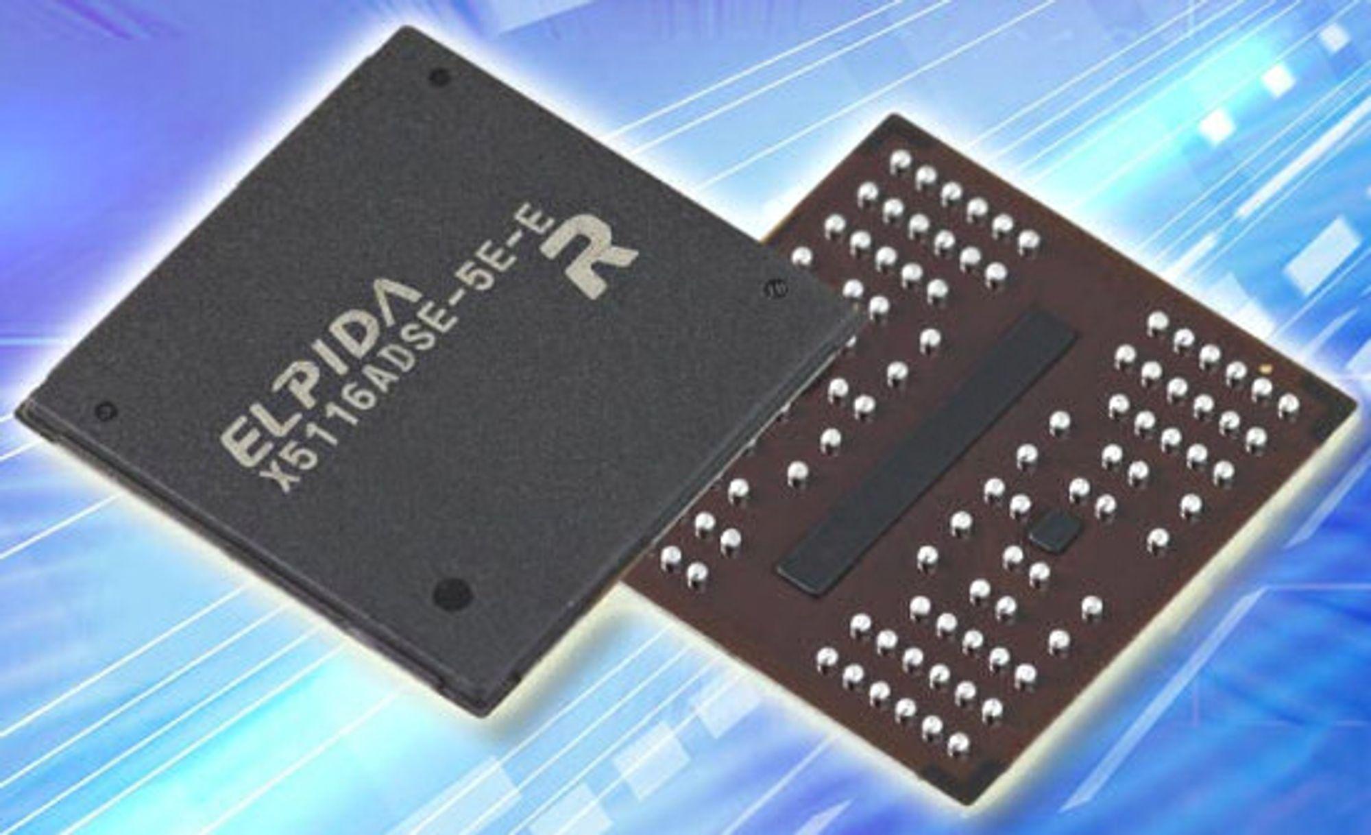 XDR-minnebrikker fra Elpida