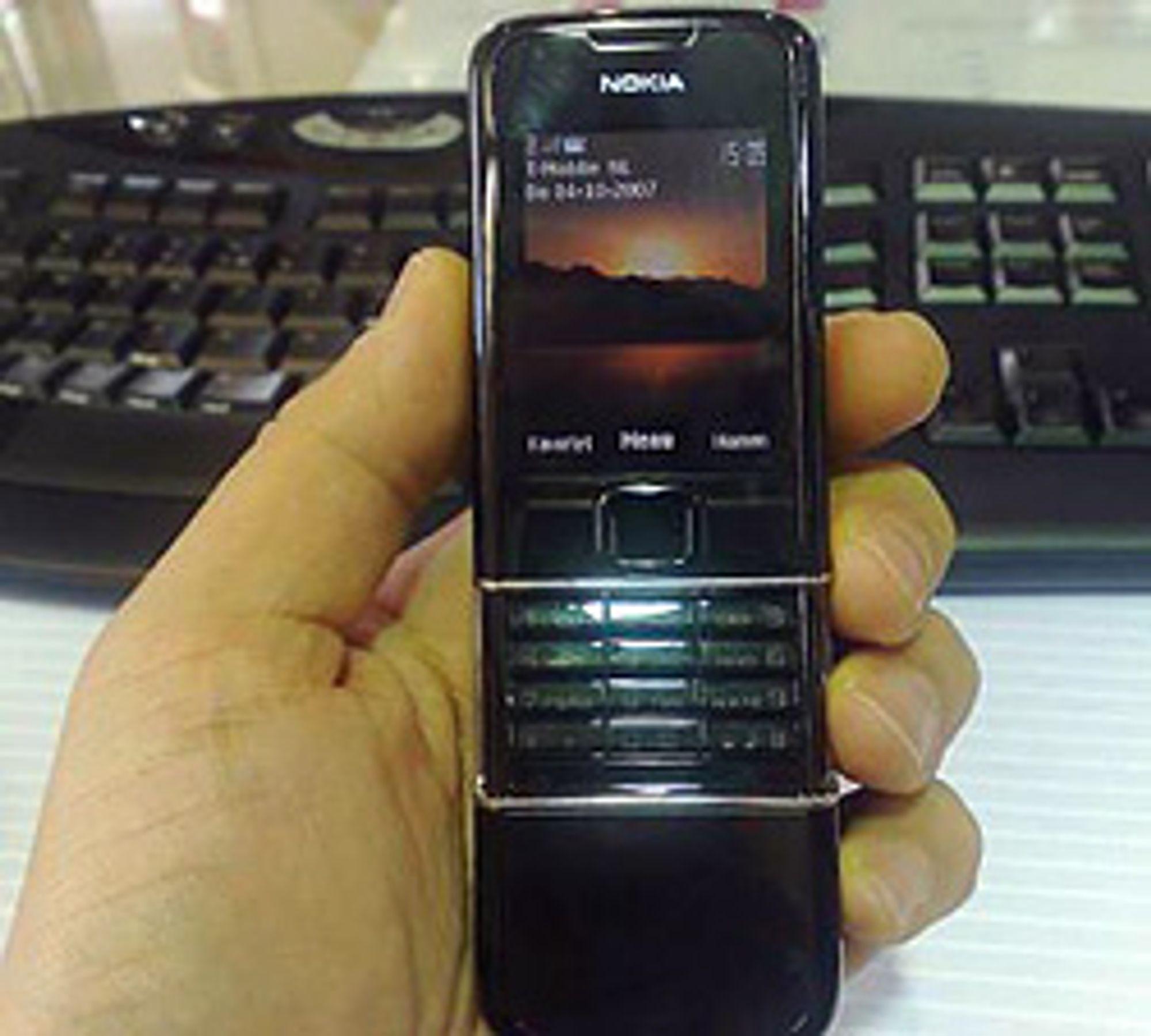 8800e skal være Nokias kommende designmobil. (Klikk for større bilde)