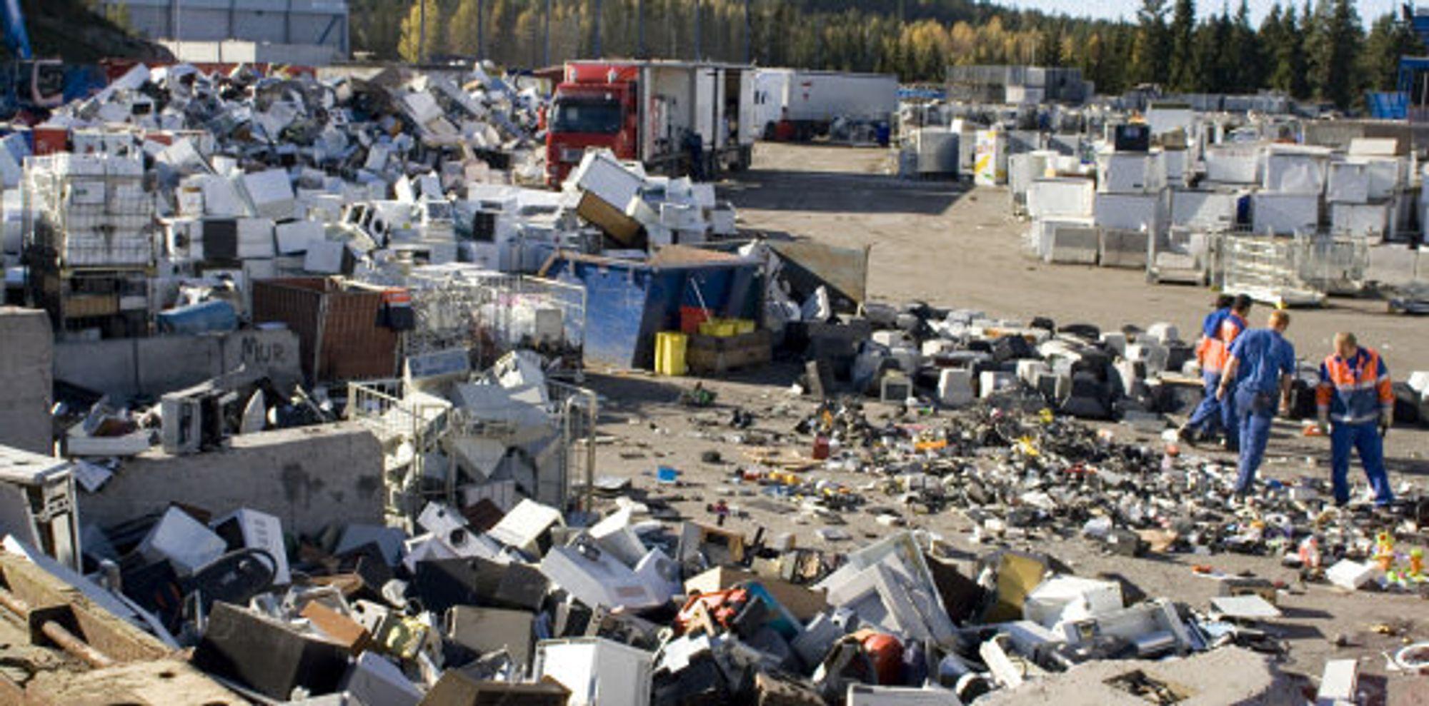 Vi skaper mye avfall
