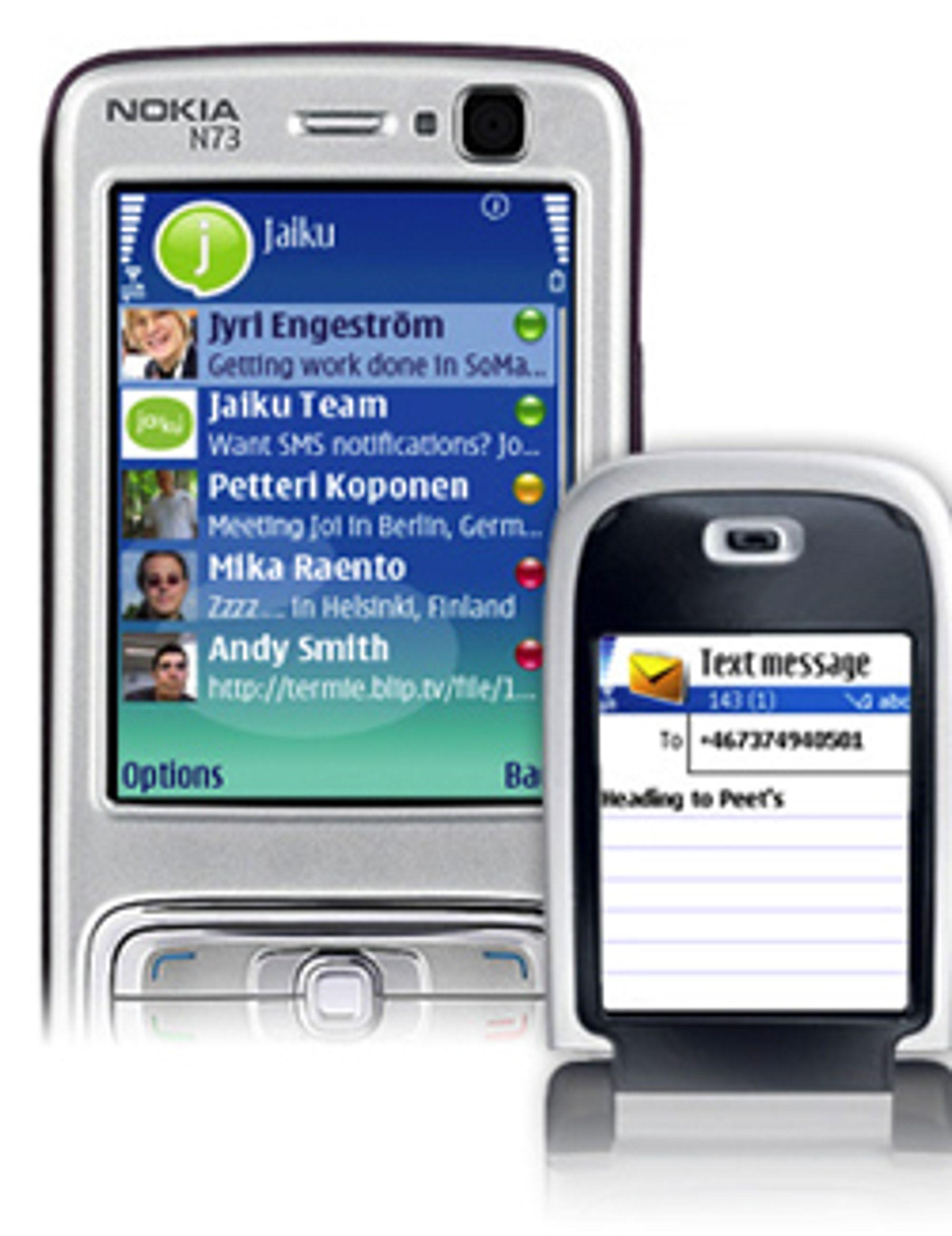 Google har handlet mobilblogg.
