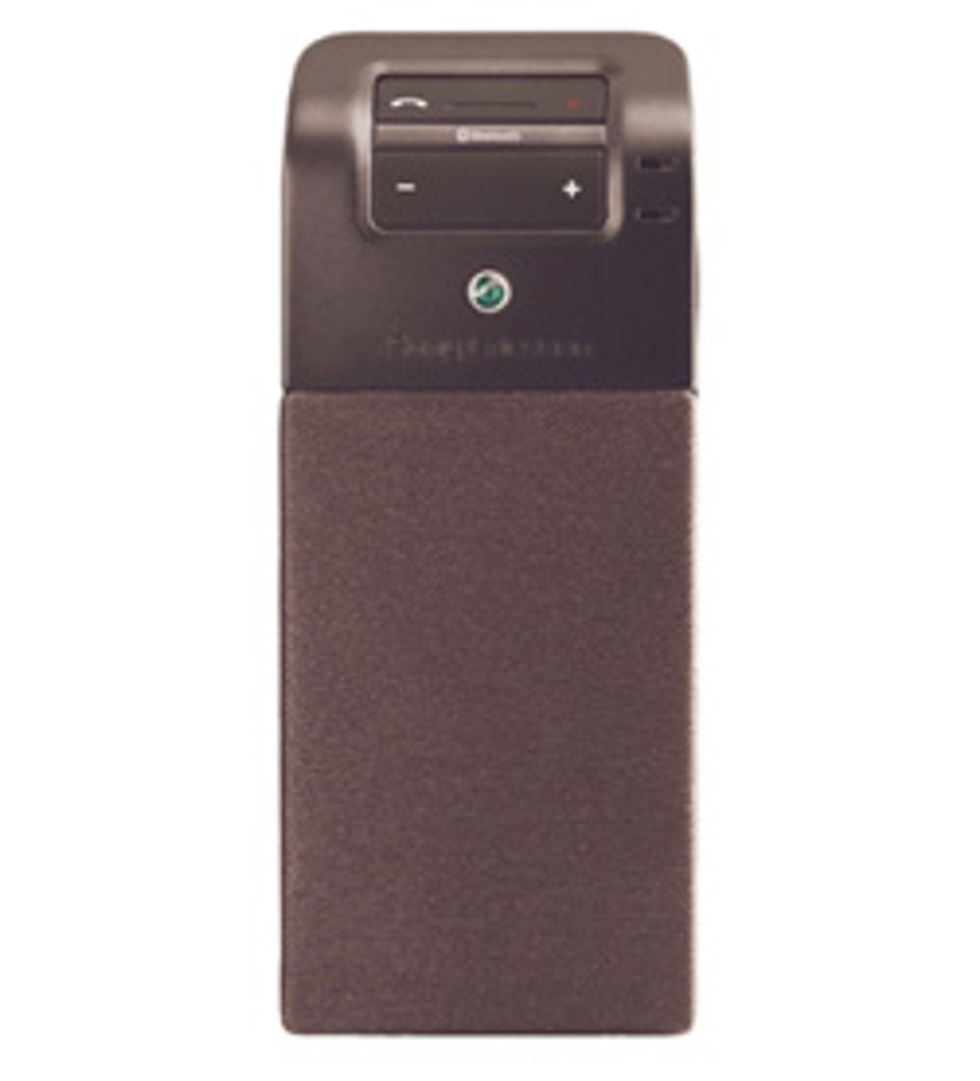 Slik ser Sony Ericssons nye håndfrisett ut.