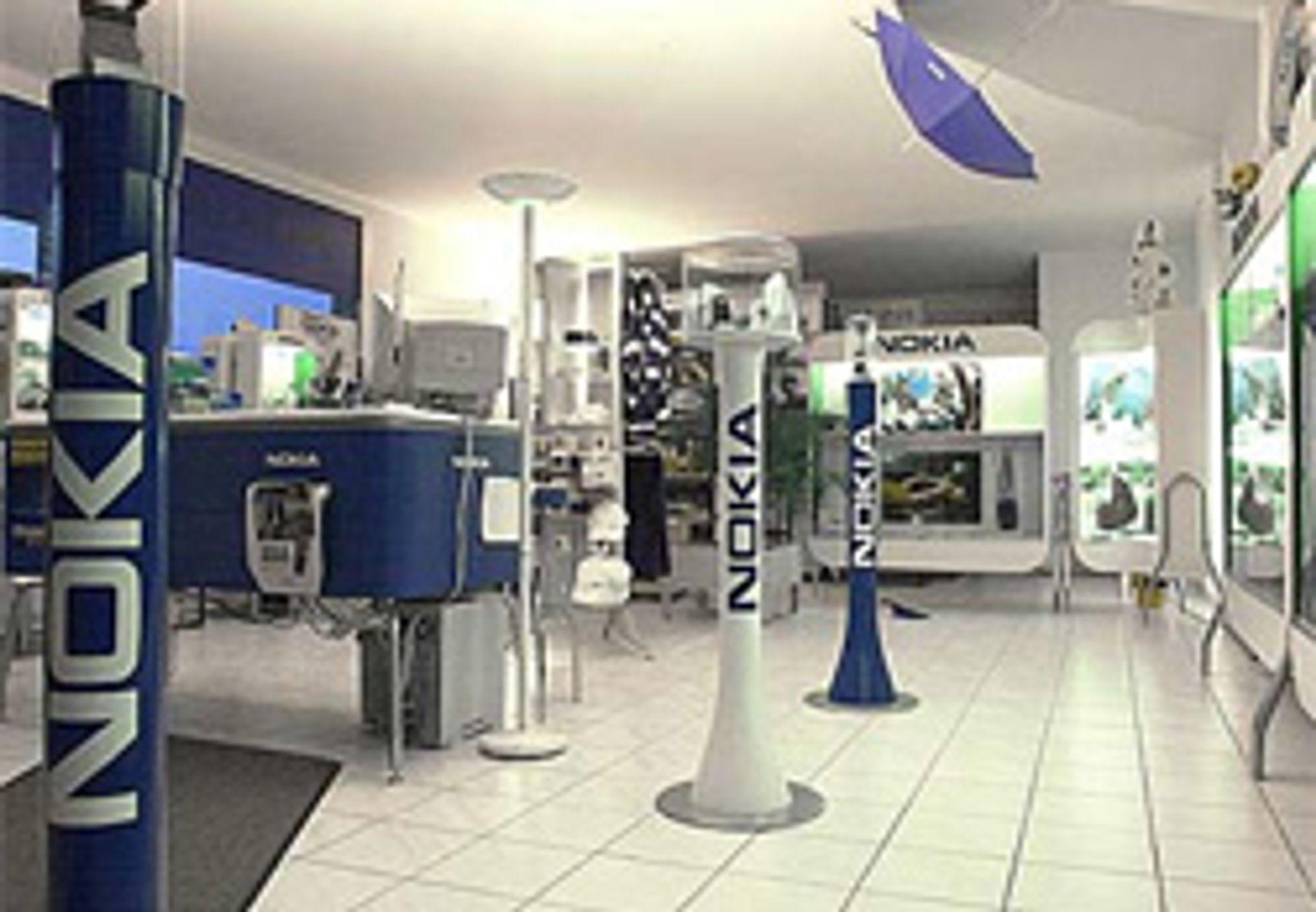 Nokias konseptbutikk i Østerrike. (Foto: 360east.com)