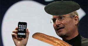 Frankrike sier bonjour til l'iPhone