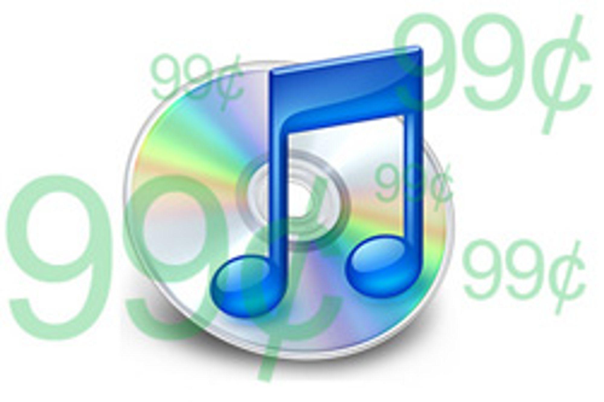 DRM-fri musikk blir billigere hos Itunes. (Illustrasjon: Gizmodo)