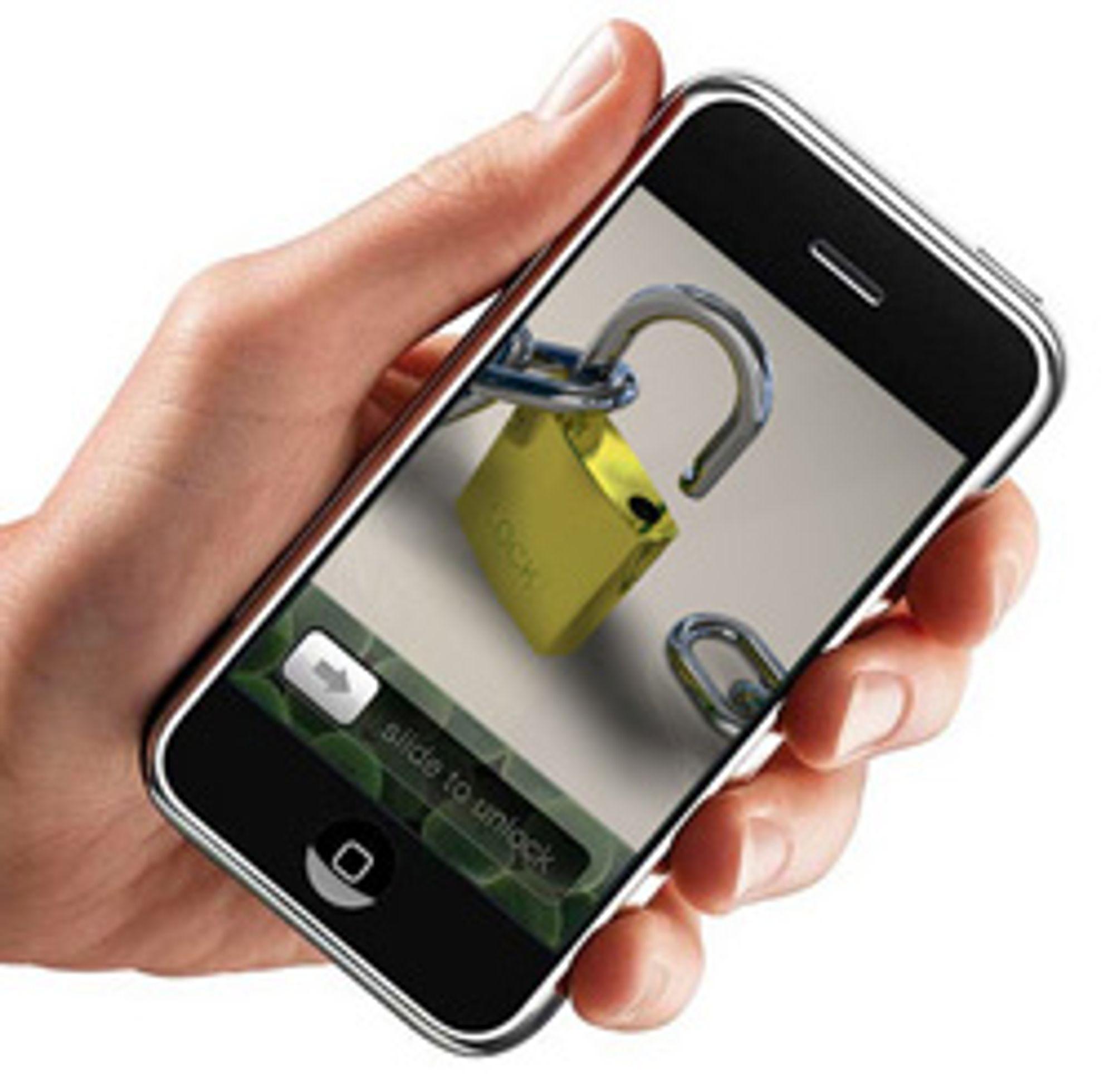 Mange har låst opp Iphone. (Foto: Apple/Mark Evans/Istockphoto)