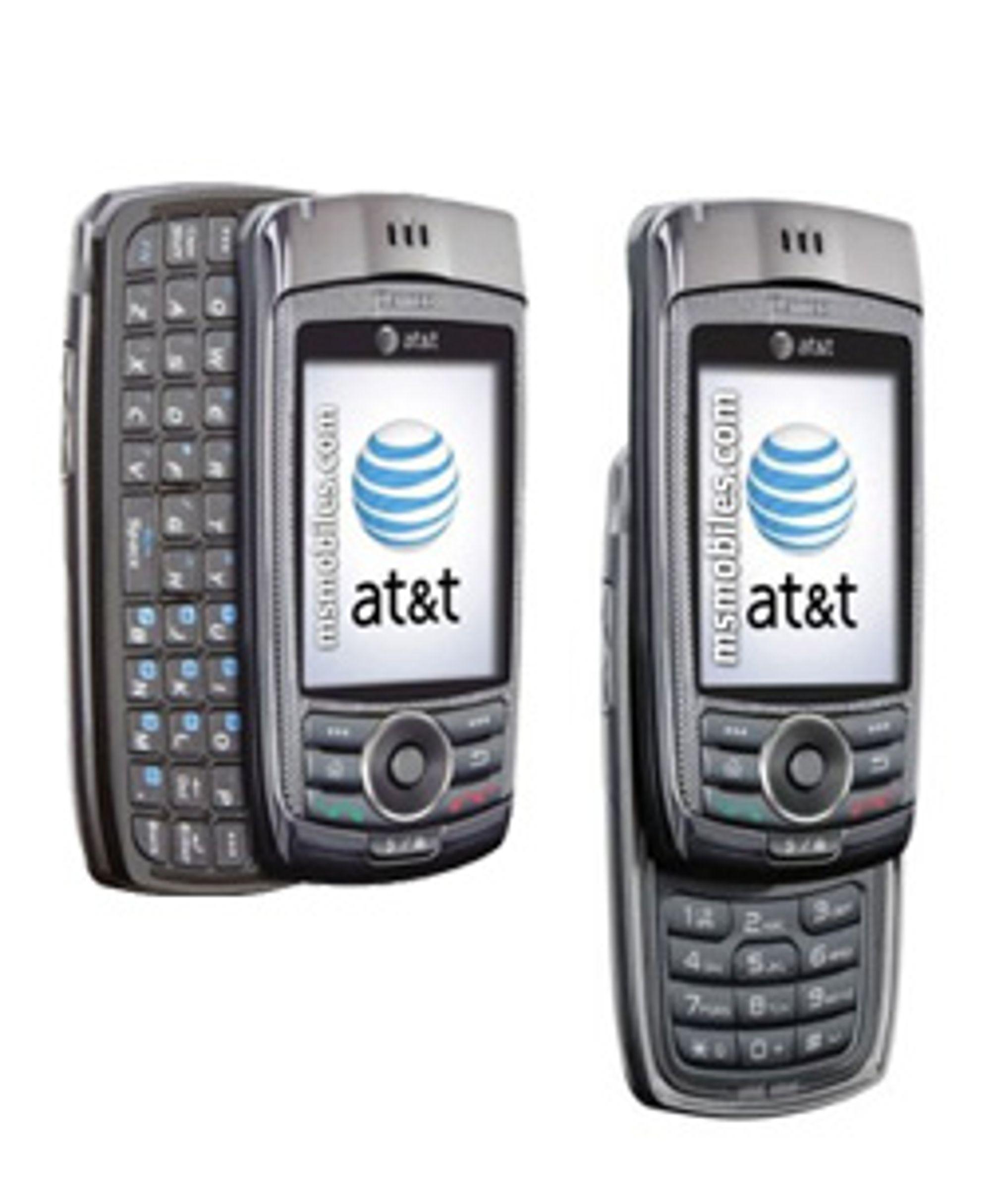 Det ser kanskje merkelig ut i første øyekast, men mobilen har faktisk to utskyvbare tastatur.