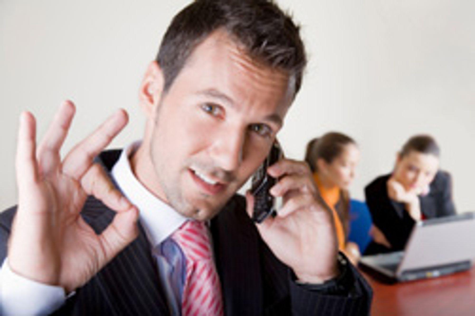 Kundene er fornøyde med Newphone. (Foto: Istockphoto / Alex Brosa)