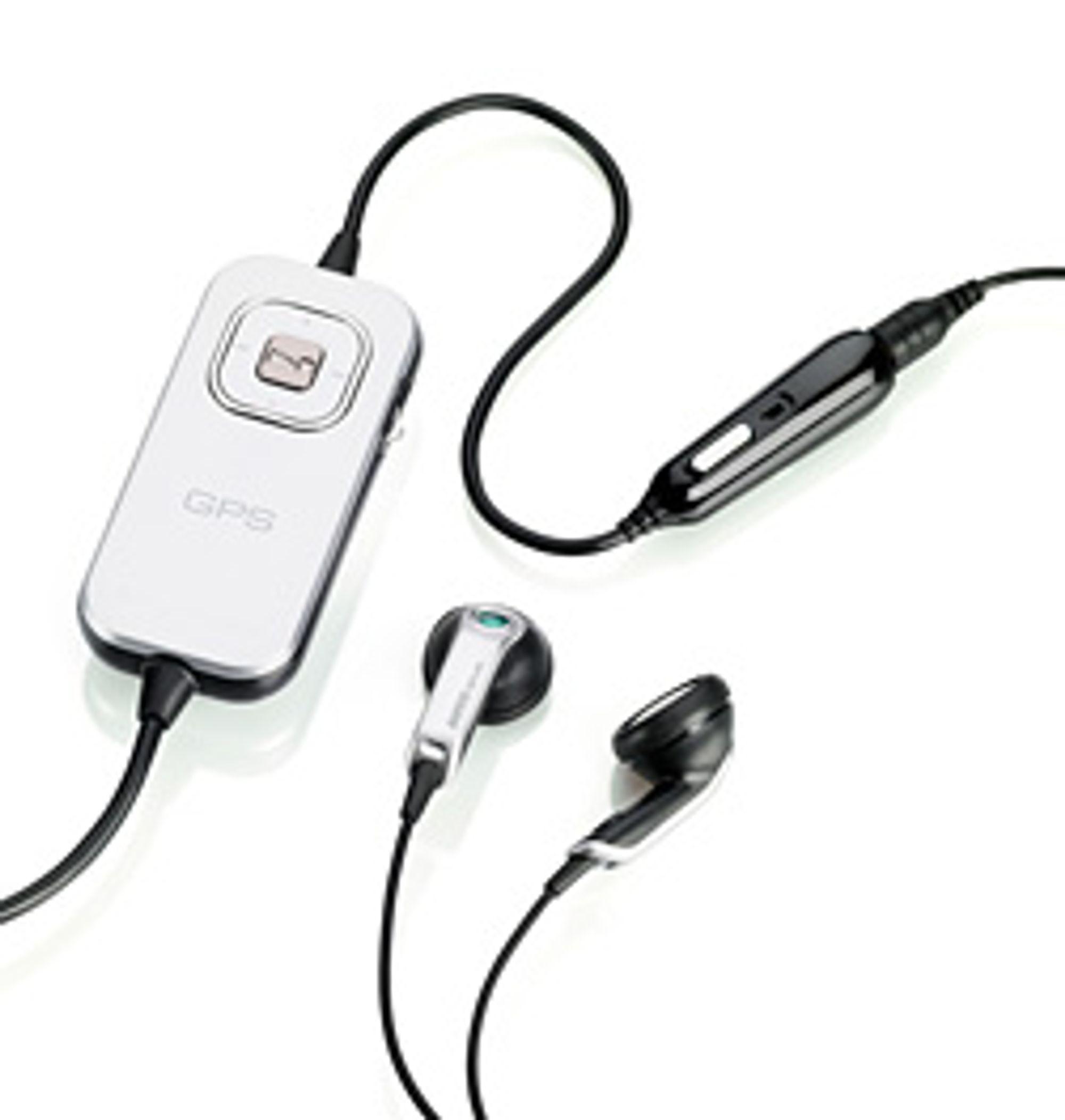 HGE-100 gir deg både GPS, håndfri og musikkhodesett i én enhet. Om du ikke har K850i og W910i altså.