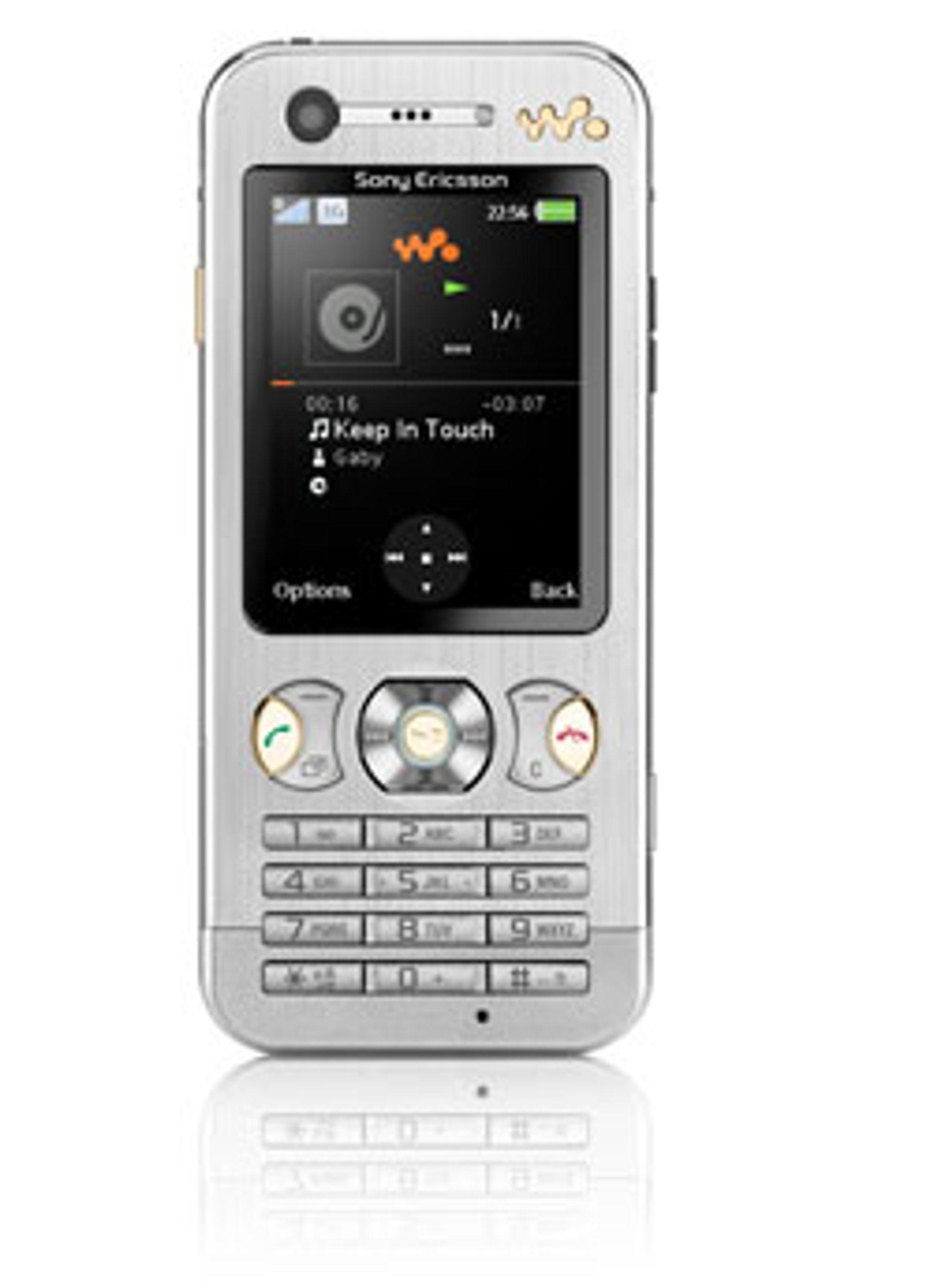 W890i er en ny, tynn Walkman-mobil med Walkman 3.0-programvare.