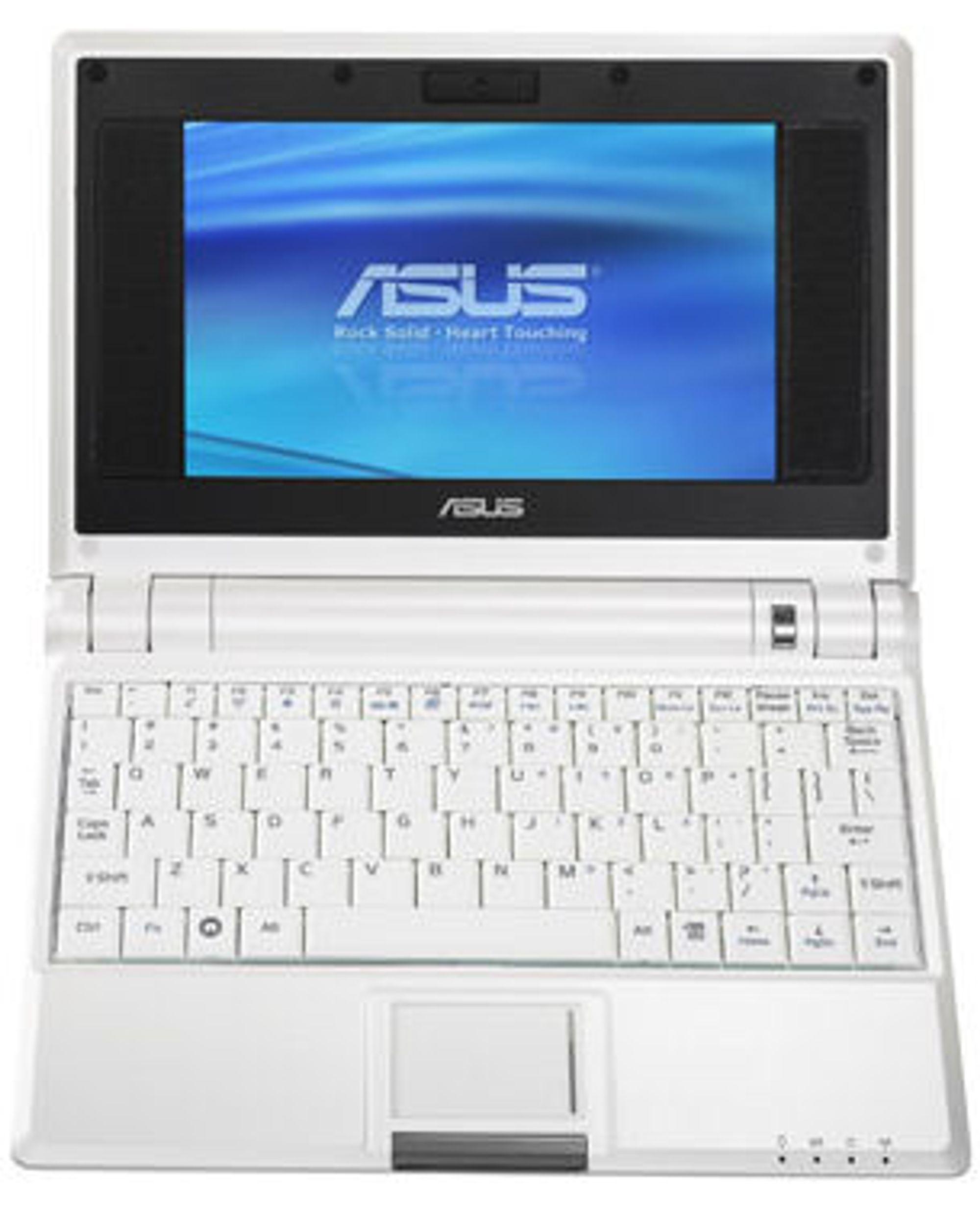 Dem bærbare Asus Eee PC 4G