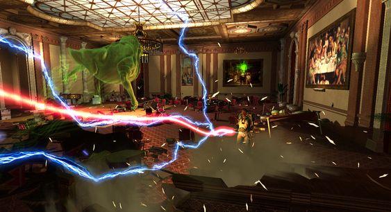 Ghostbusters: The Game, det første spillet jeg anmeldte.