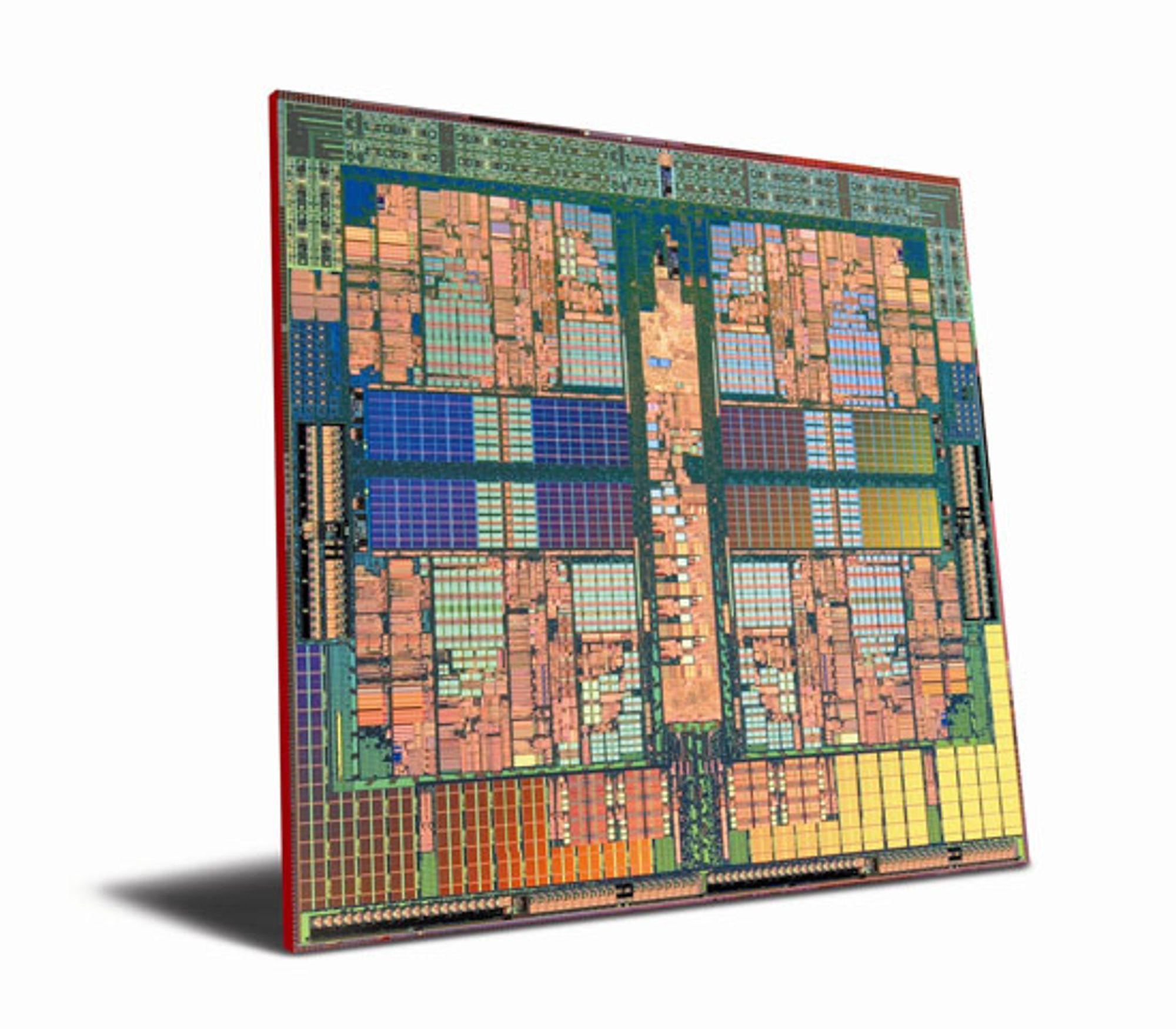 Innsiden av AMD Phenom