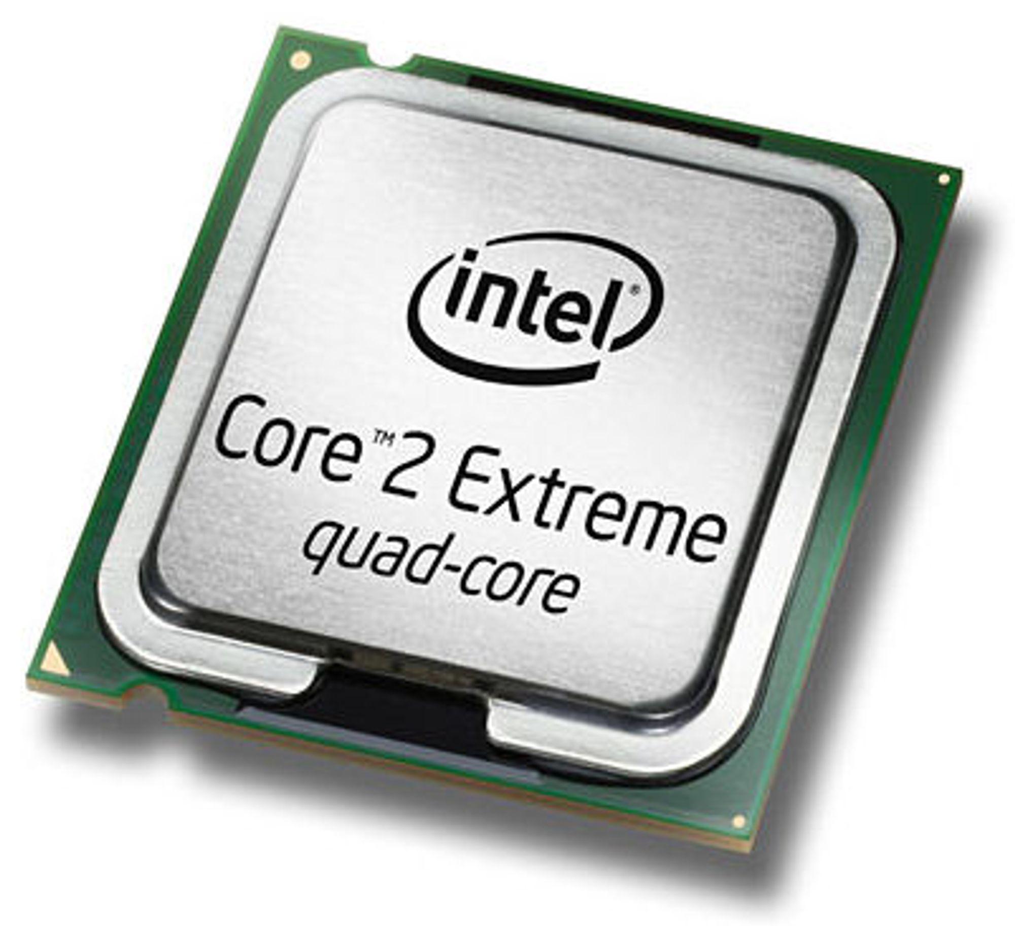 Core 2 Extreme QX9770: Firekjerne på 3,2 GHz