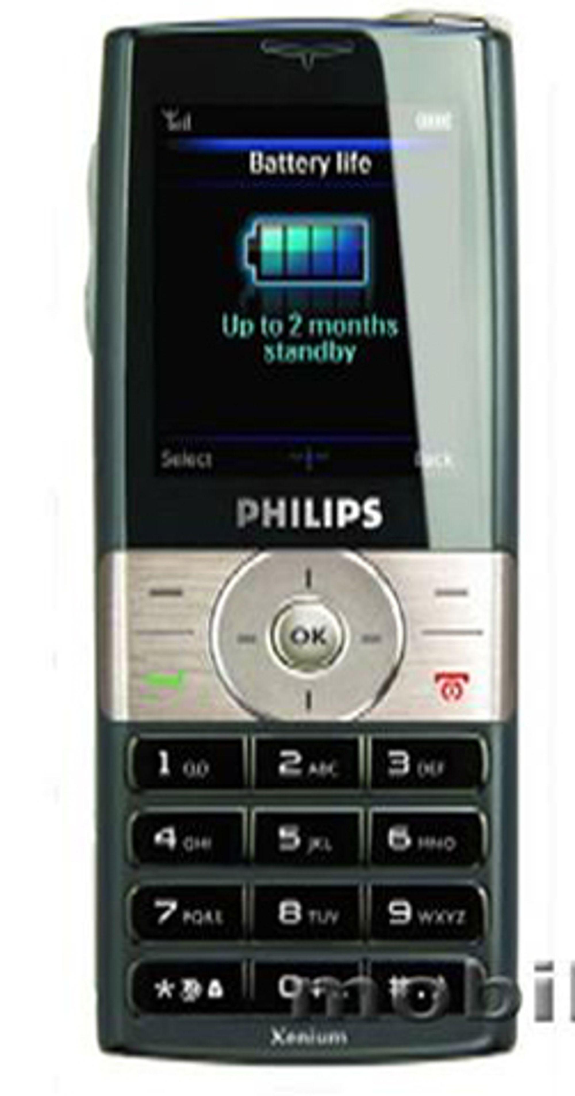 Denne telefonen slipper du å lade annenhver dag.