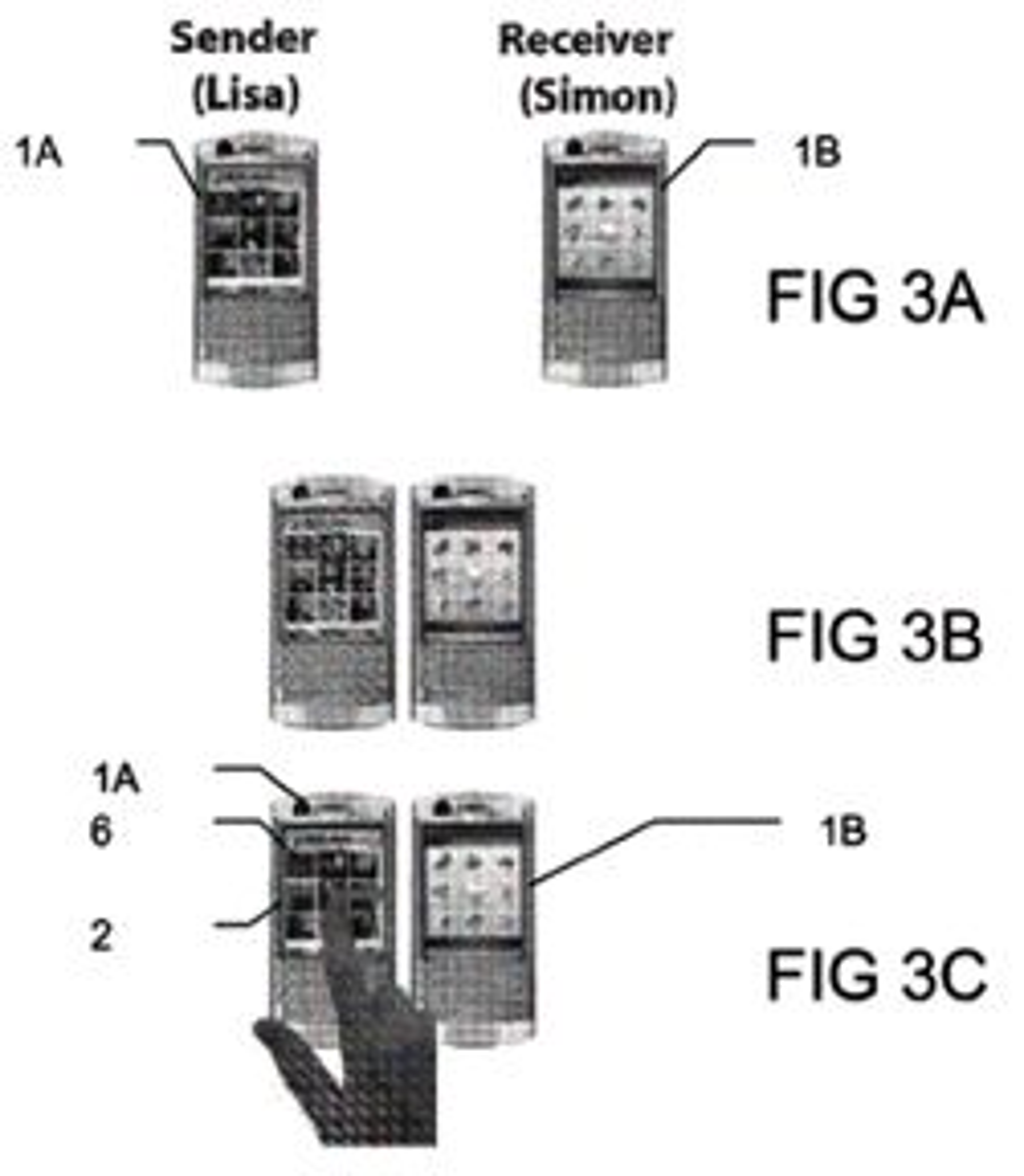 Slik vil Sony Ericsson overføre bilder. Klikk for større versjon. (Bilde: Sony Ericsson)
