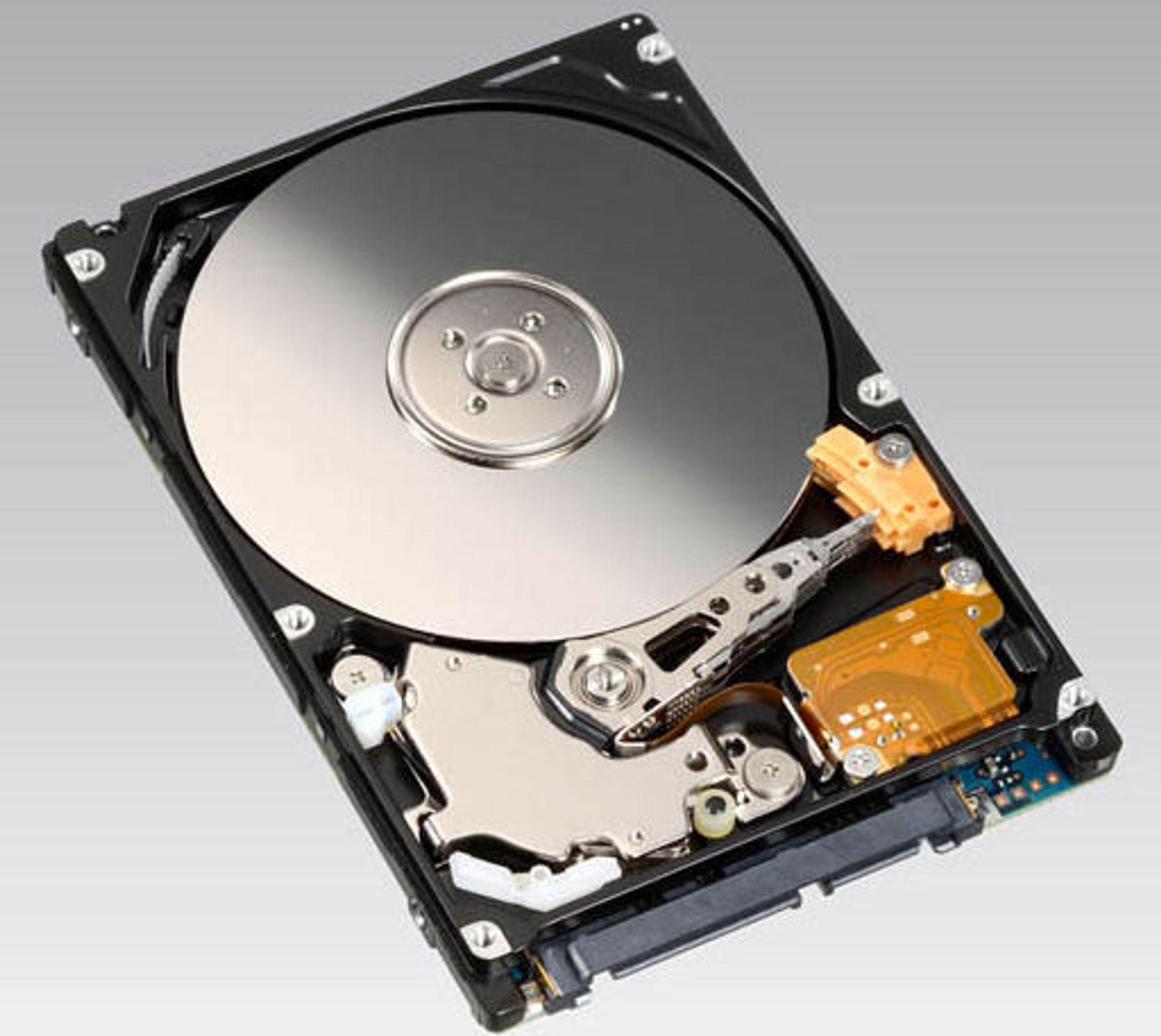 Opptil 320 GB: Fujitsu MHZ2 BH-serien