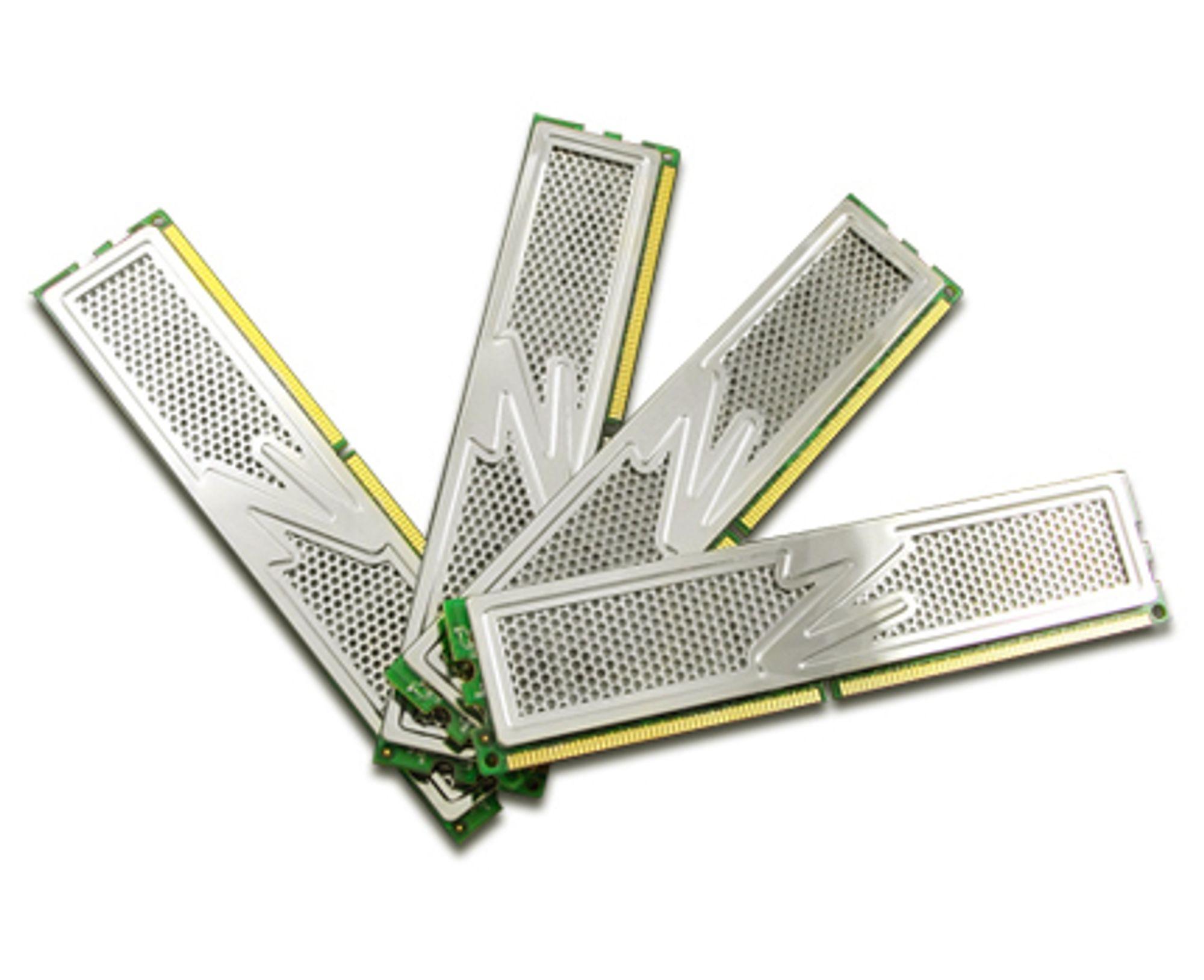 OCZ DDR2 PC2-6400 8GB Platinum Quad Kit