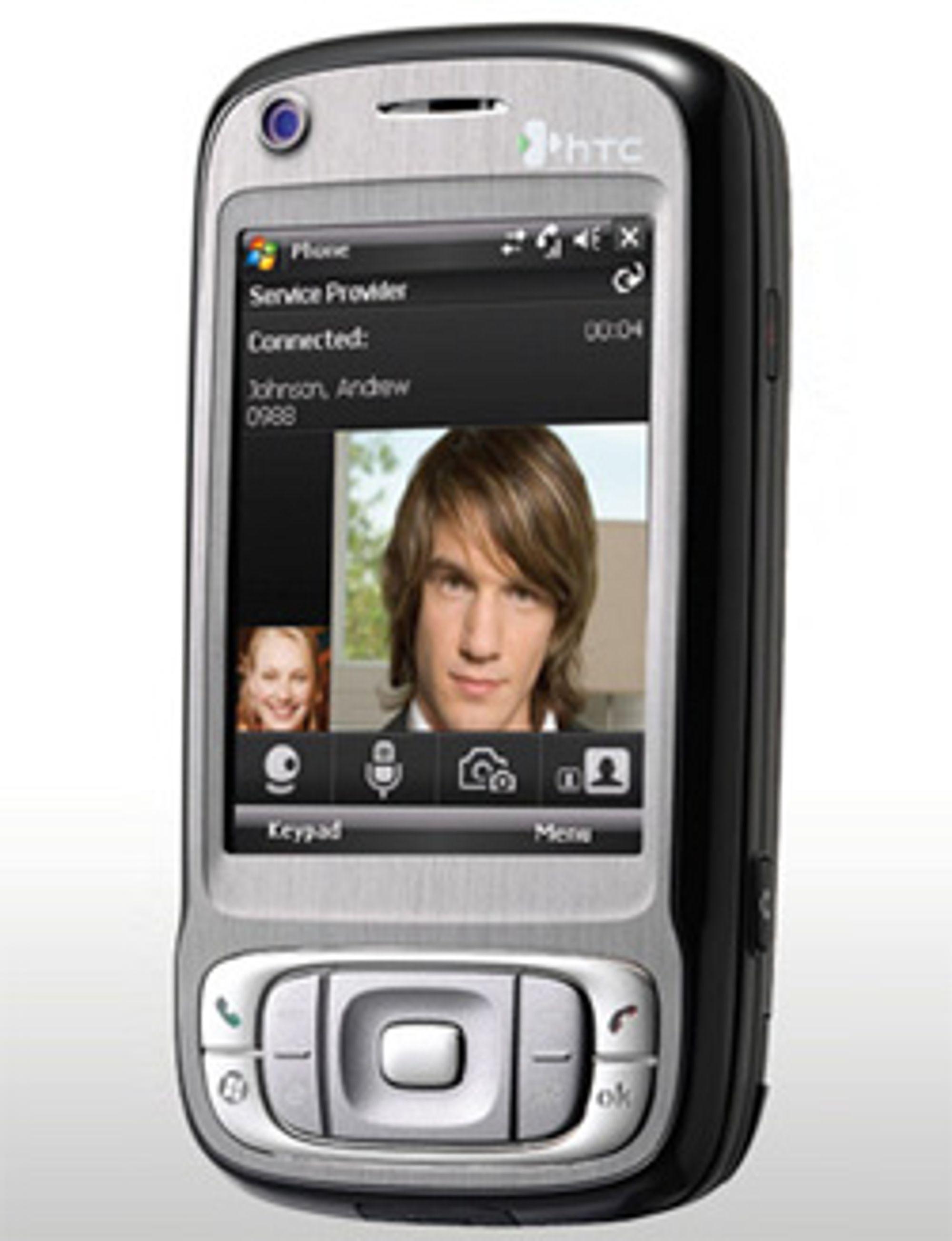HTCs TyTn II er én av mobilene som kjører Windows Mobile 6. (Foto: HTC)