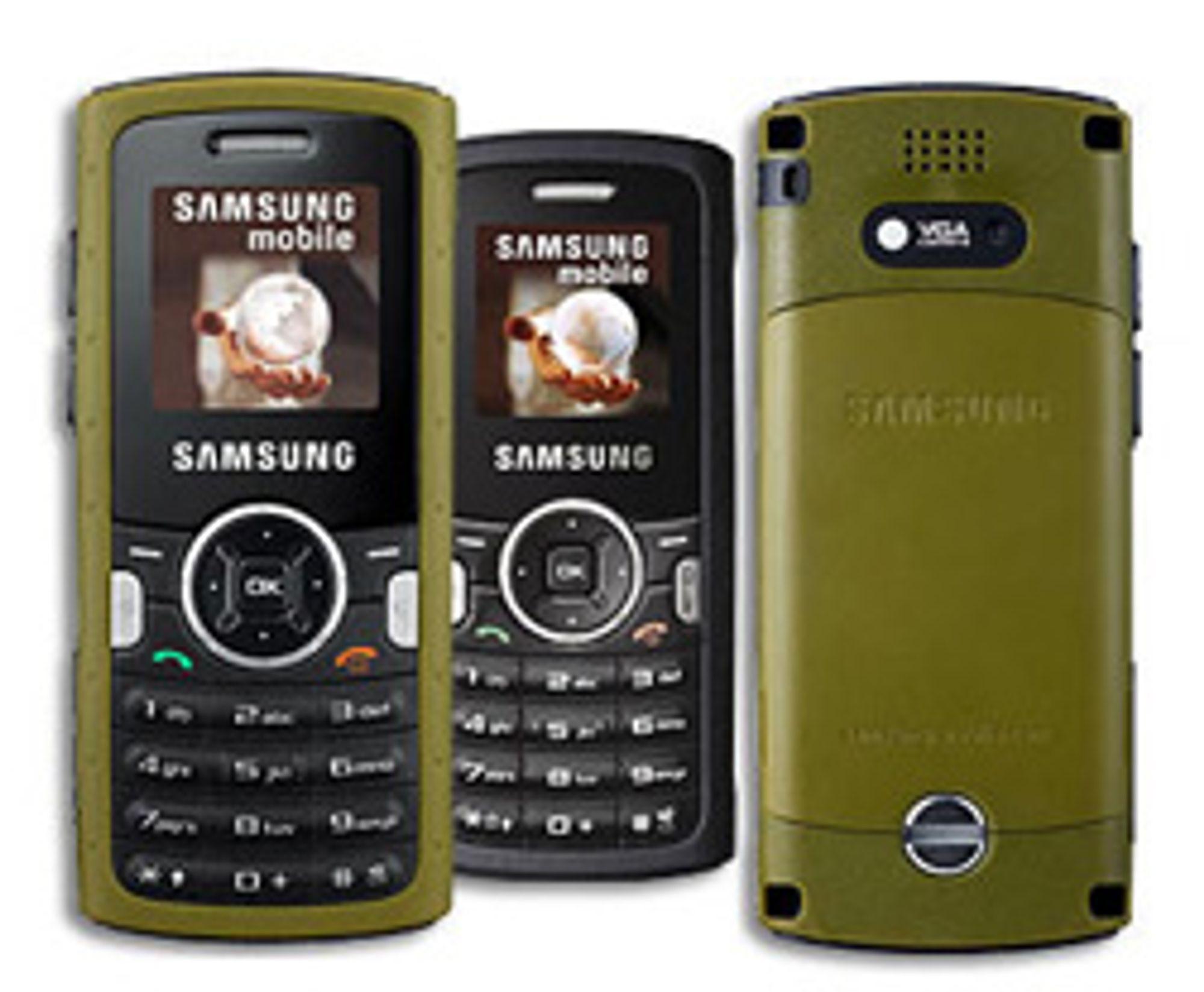 Slik ser Samsungs M110 ut. (Foto: Softpedia)