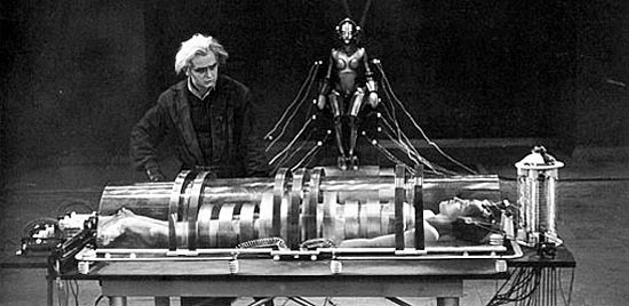 Slik så det ut i Fritz Langs fremtidsvisjon.