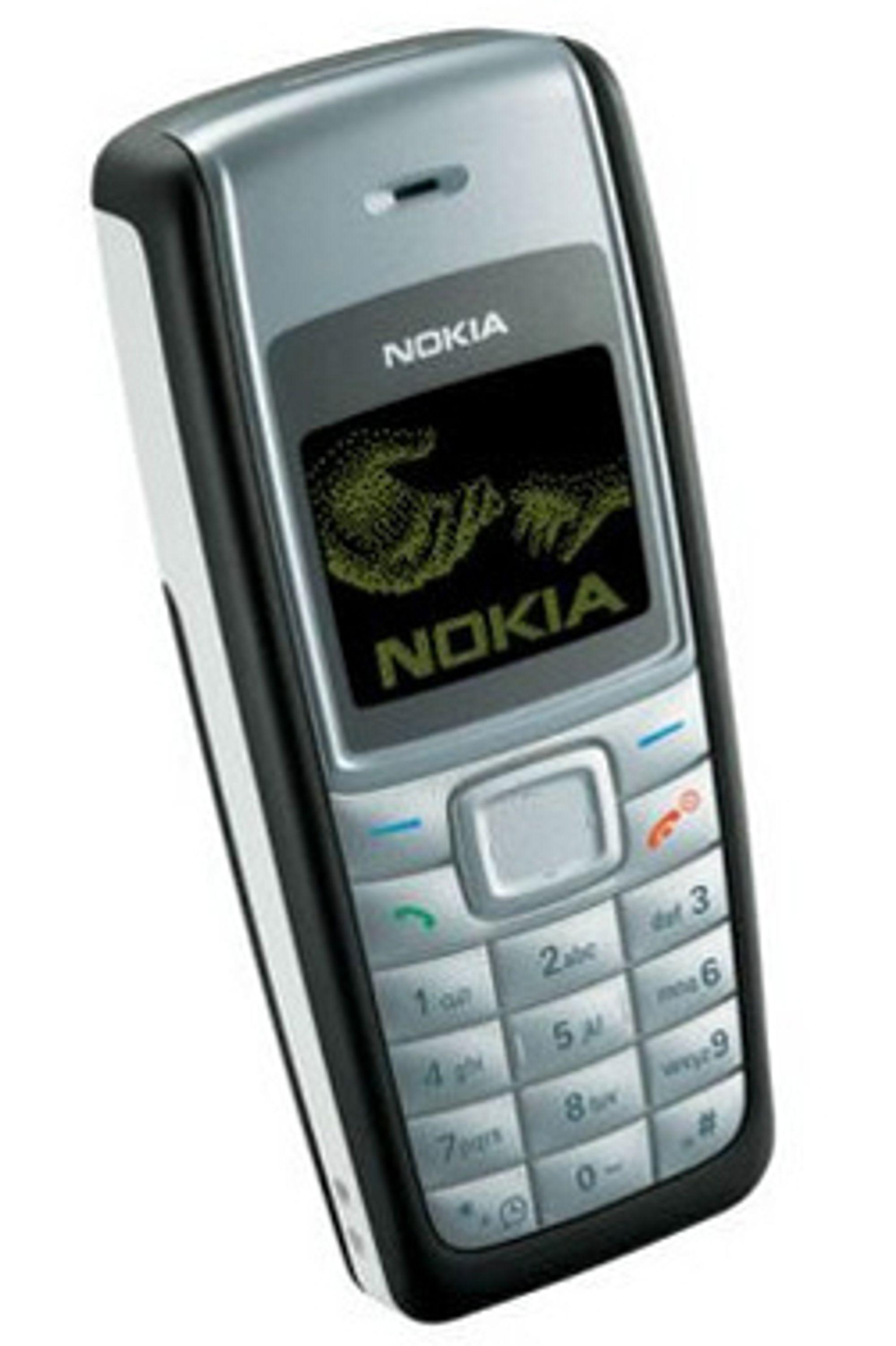 Denne mobilen koster ikke mer enn 400 kroner. (Foto: Nokia)