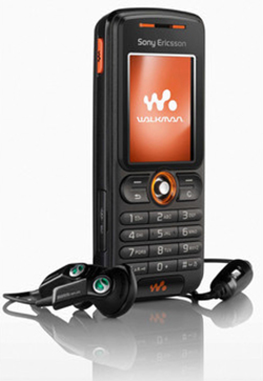 Denne musikktelefonen fra Sony Ericsson koster en tusenlapp. (Foto: Sony Ericsson)