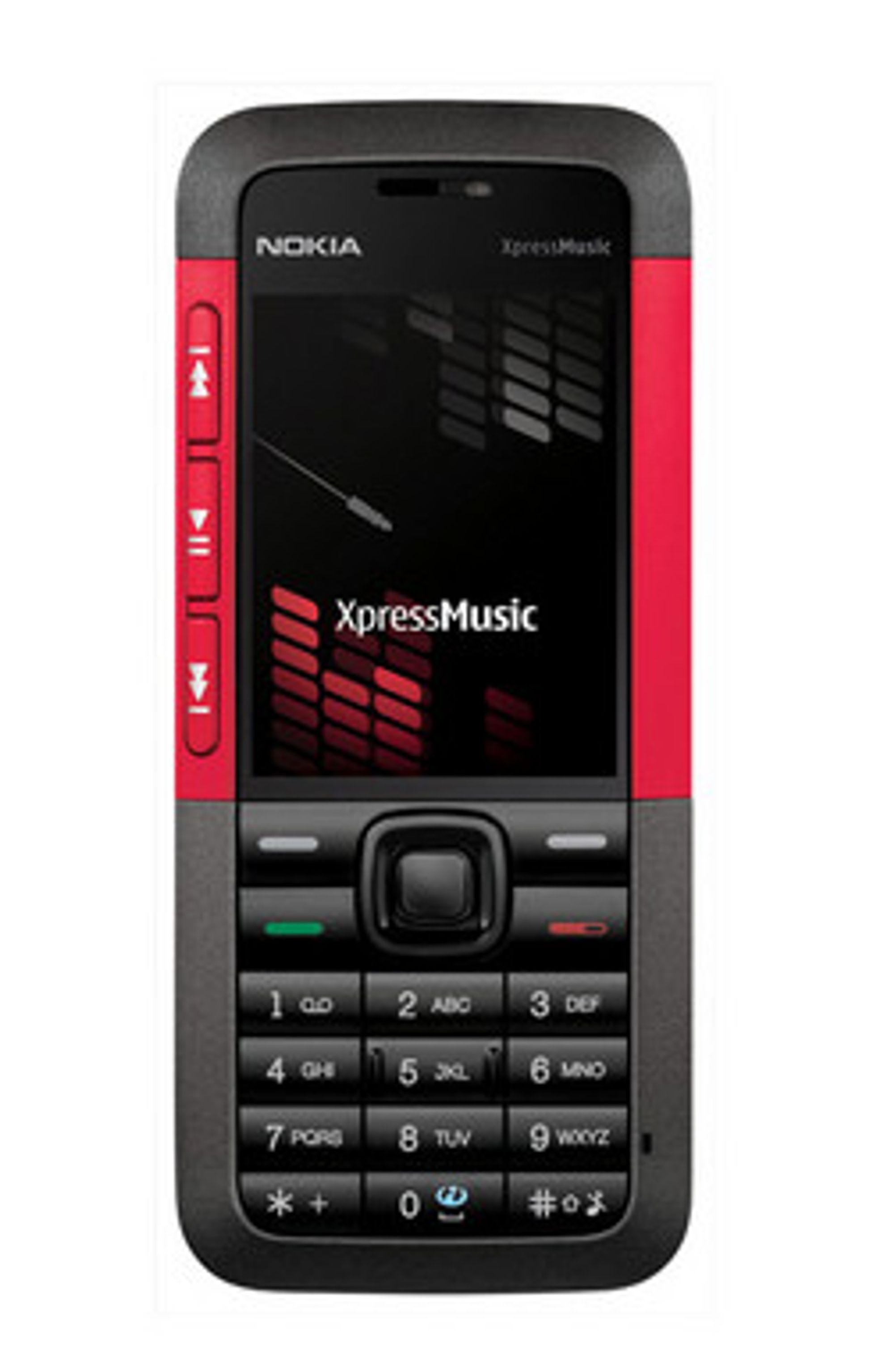 5310 er en del av Nokias Xpress Music-serie.