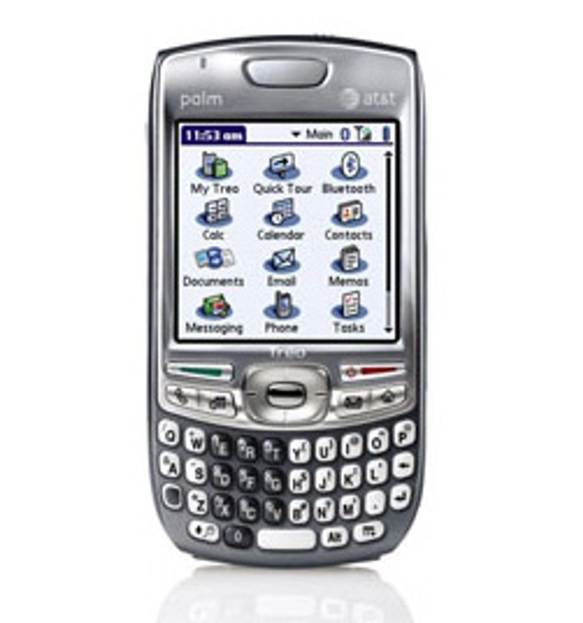 Blir Palms Treo 860 den siste avanserte modellen med Palm OS? (Foto: Palm)