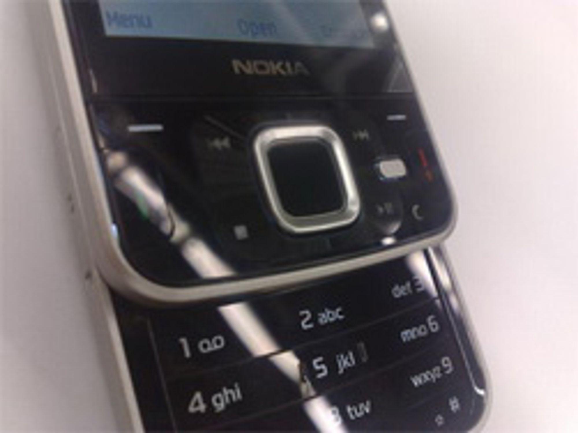 Tastene til det som skal være N96 likner på tastene til N81.